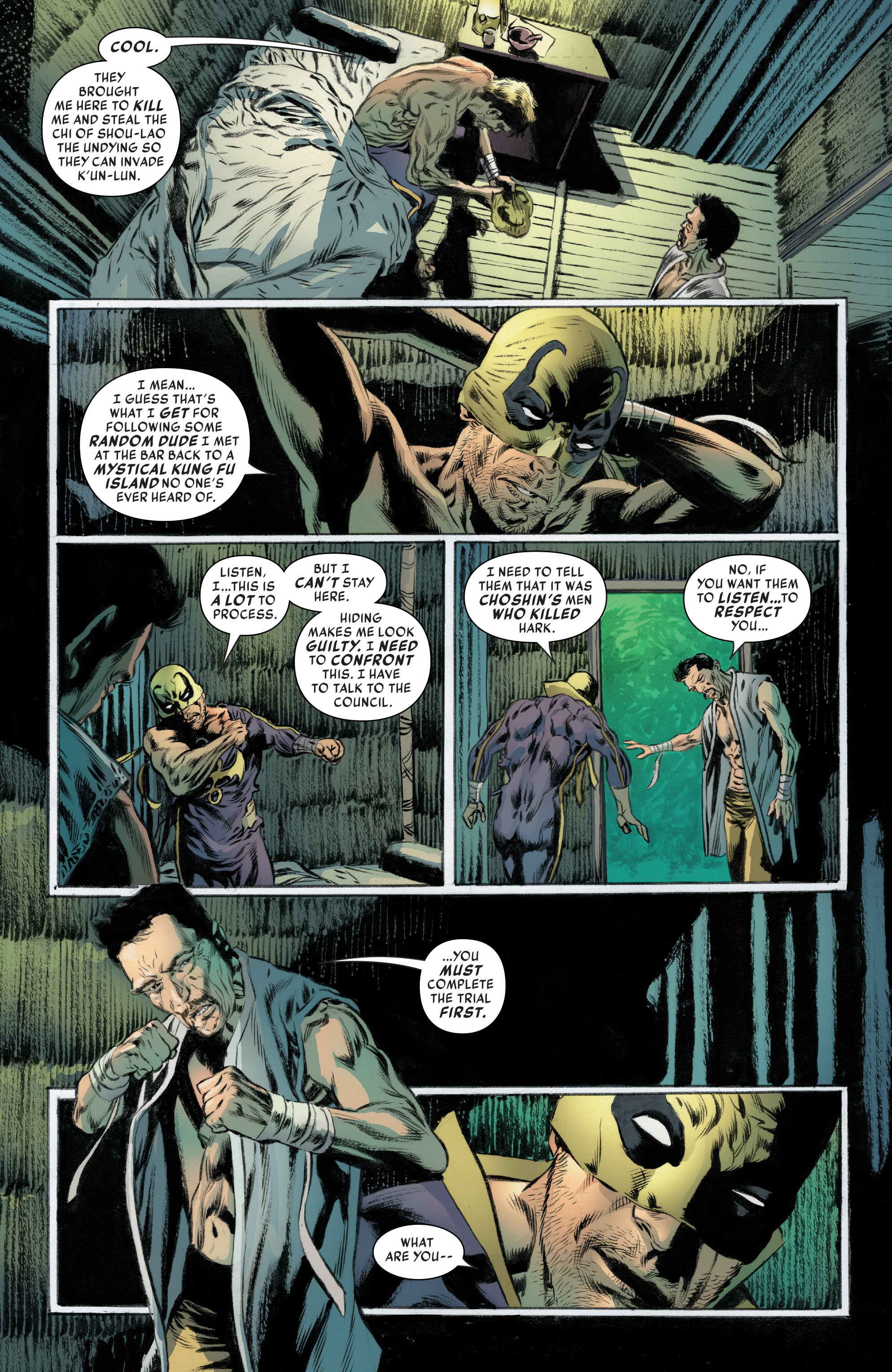 Read online Iron Fist (2017) comic -  Issue #4 - 11