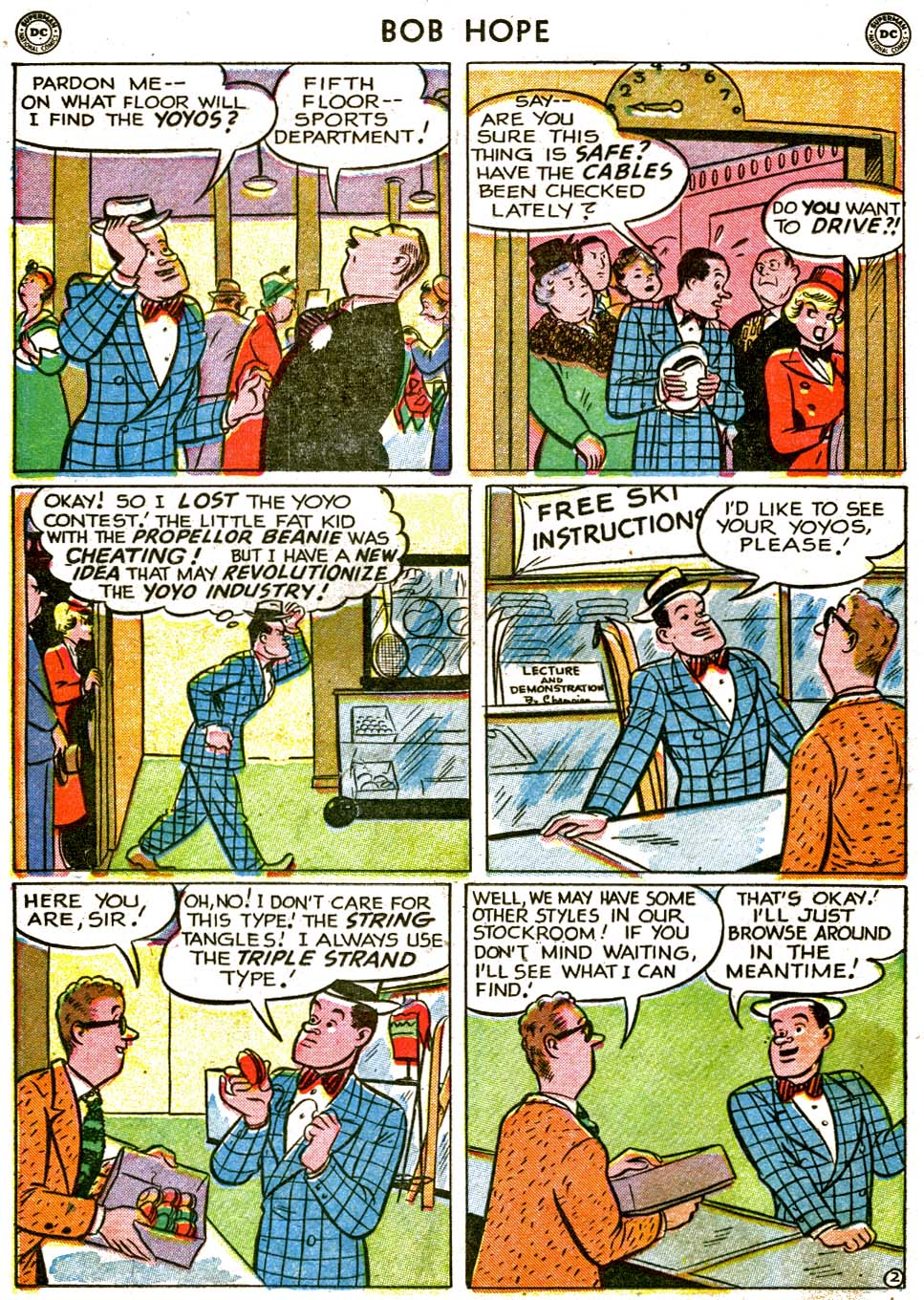 The Adventures of Bob Hope issue 1 - Page 18