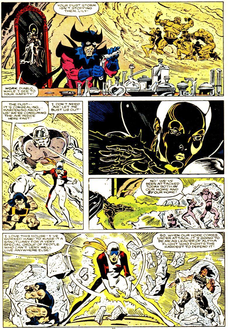 Read online Alpha Flight (1983) comic -  Issue # _Annual 1 - 34
