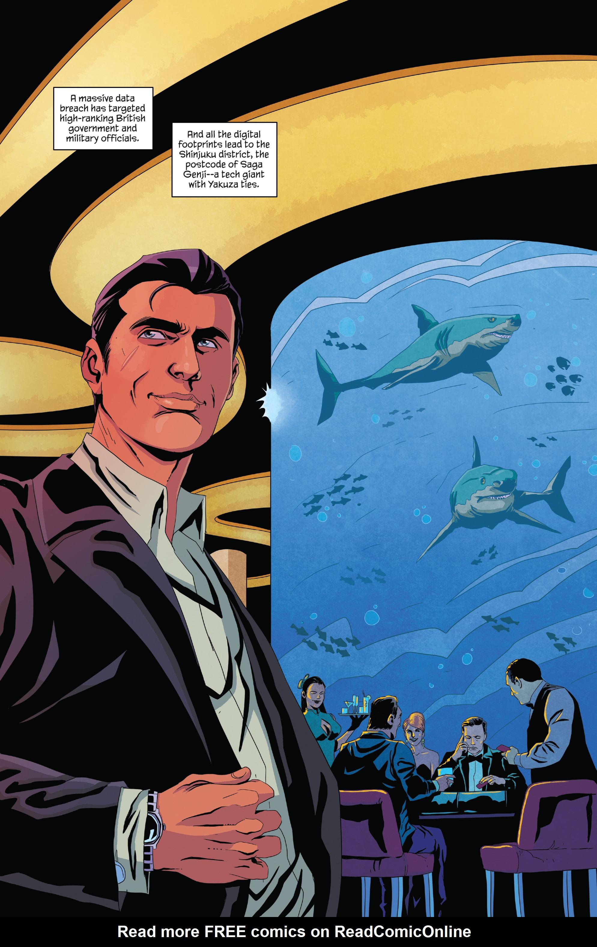 Read online James Bond (2017) comic -  Issue #2 - 6