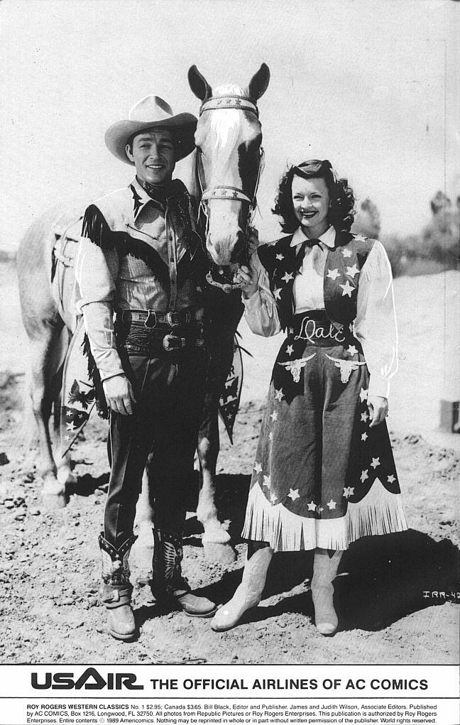 Read online Roy Rogers comic -  Issue #1 - 2
