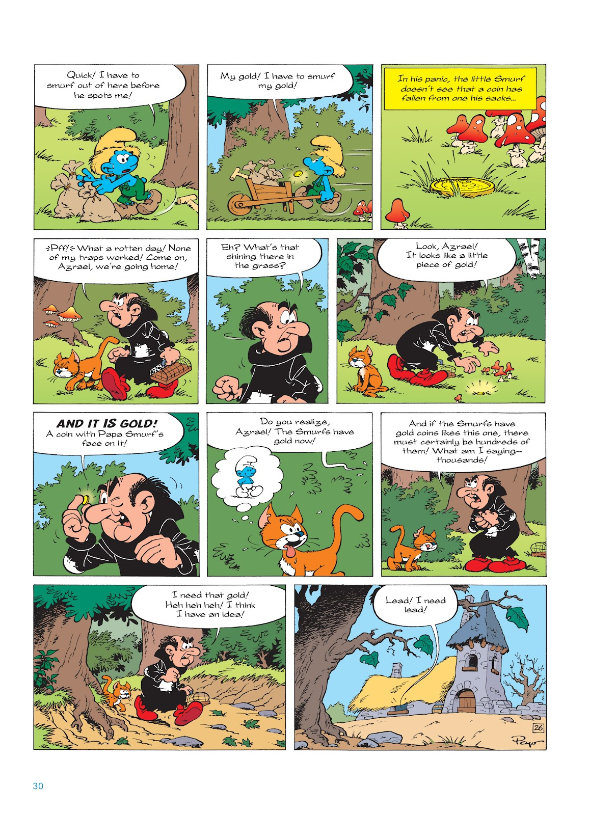 Read online The Smurfs comic -  Issue #18 - 30