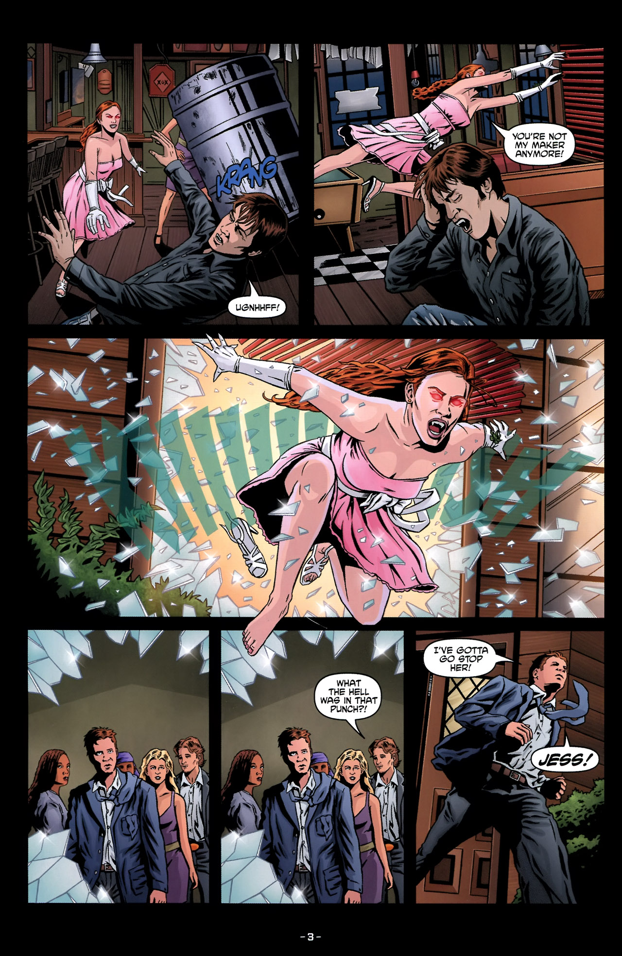Read online True Blood: Tainted Love comic -  Issue #2 - 7