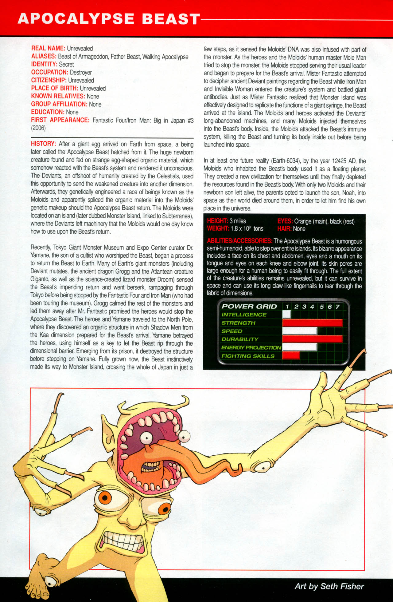 Read online All-New Official Handbook of the Marvel Universe A to Z: Update comic -  Issue #2 - 8