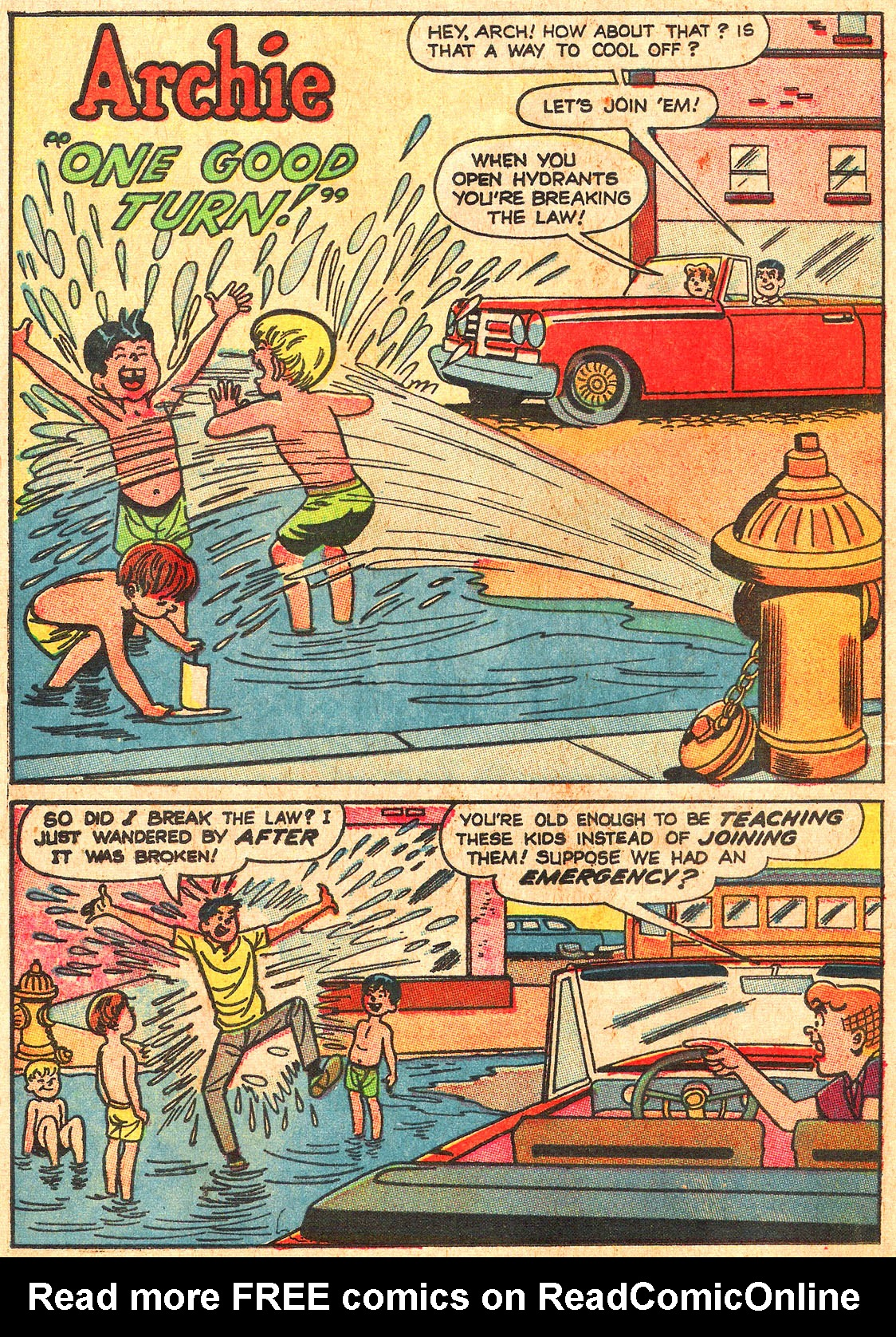 Read online Archie (1960) comic -  Issue #176 - 20