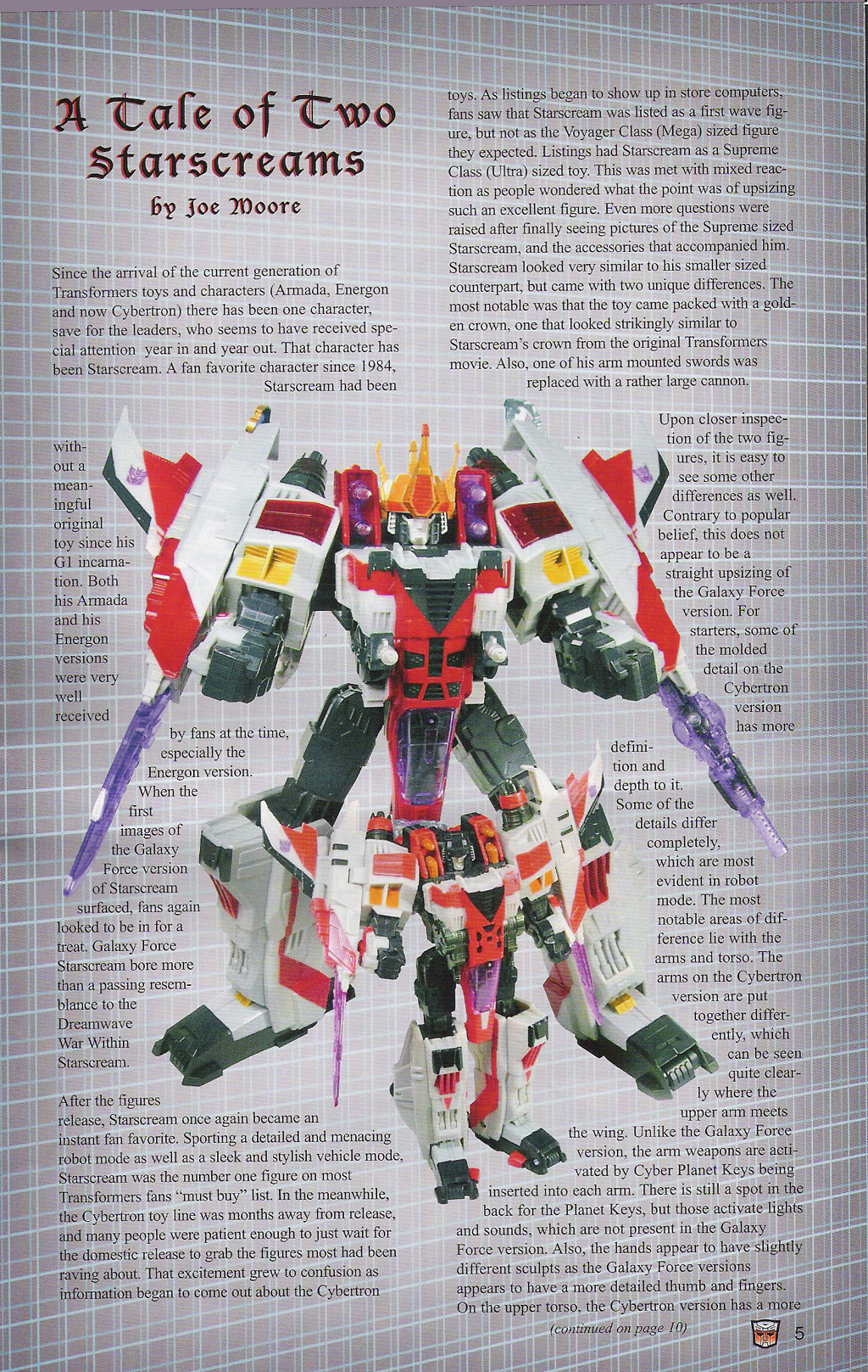 Read online Transformers: Collectors' Club comic -  Issue #5 - 5