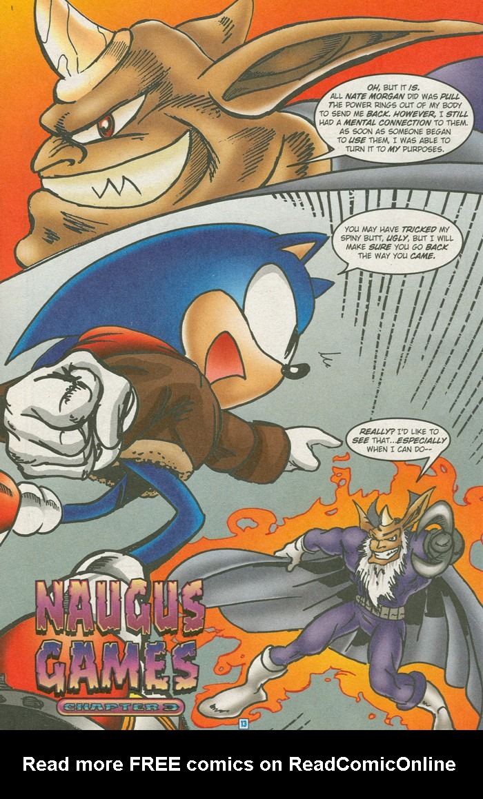Read online Sonic Super Special comic -  Issue #15 - Naugus games - 16