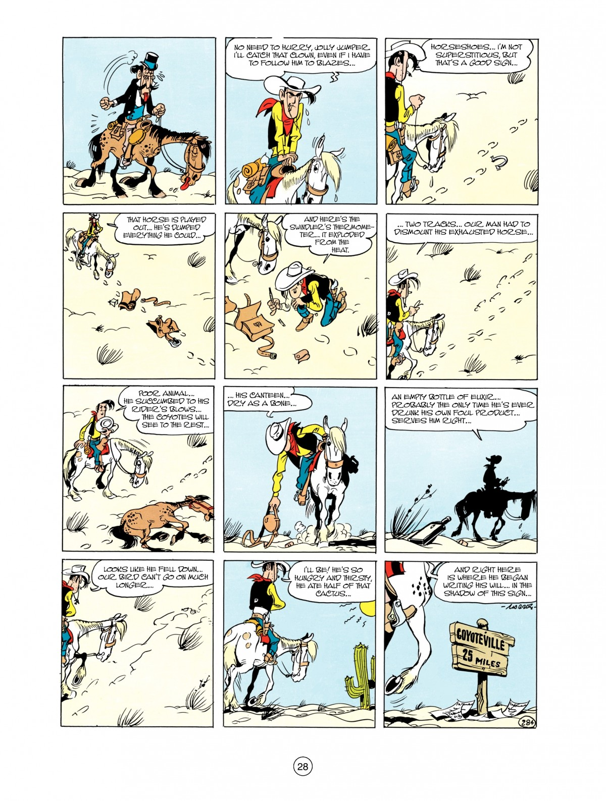 Read online A Lucky Luke Adventure comic -  Issue #38 - 28