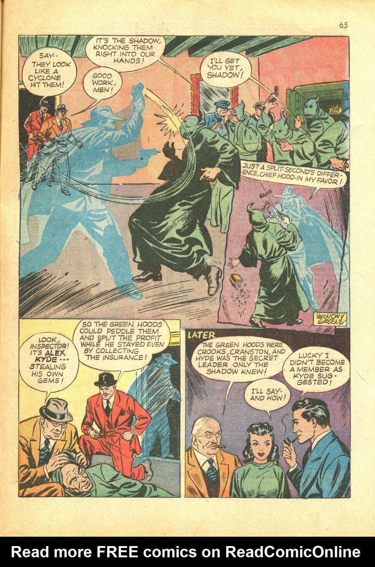 Read online Shadow Comics comic -  Issue #24 - 57