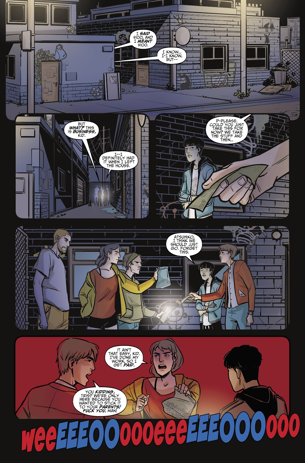 Read online Life is Strange comic -  Issue #7 - 7