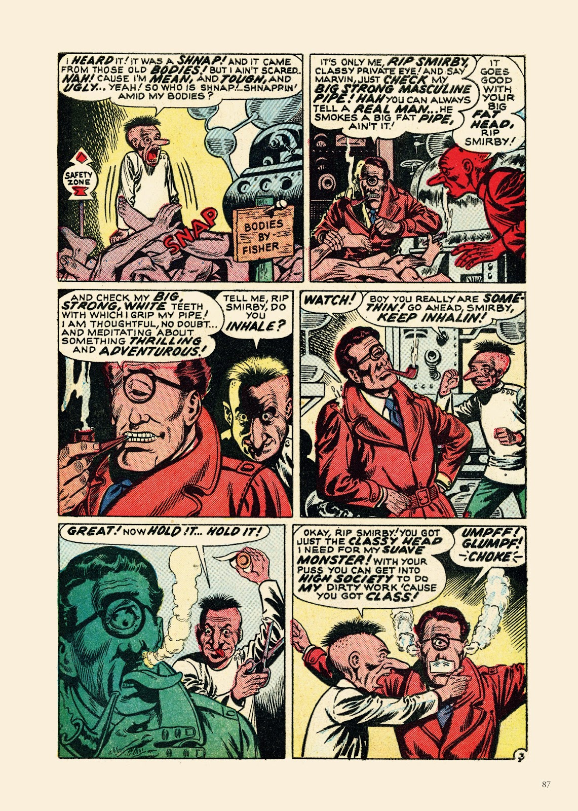 Read online Sincerest Form of Parody: The Best 1950s MAD-Inspired Satirical Comics comic -  Issue # TPB (Part 1) - 88