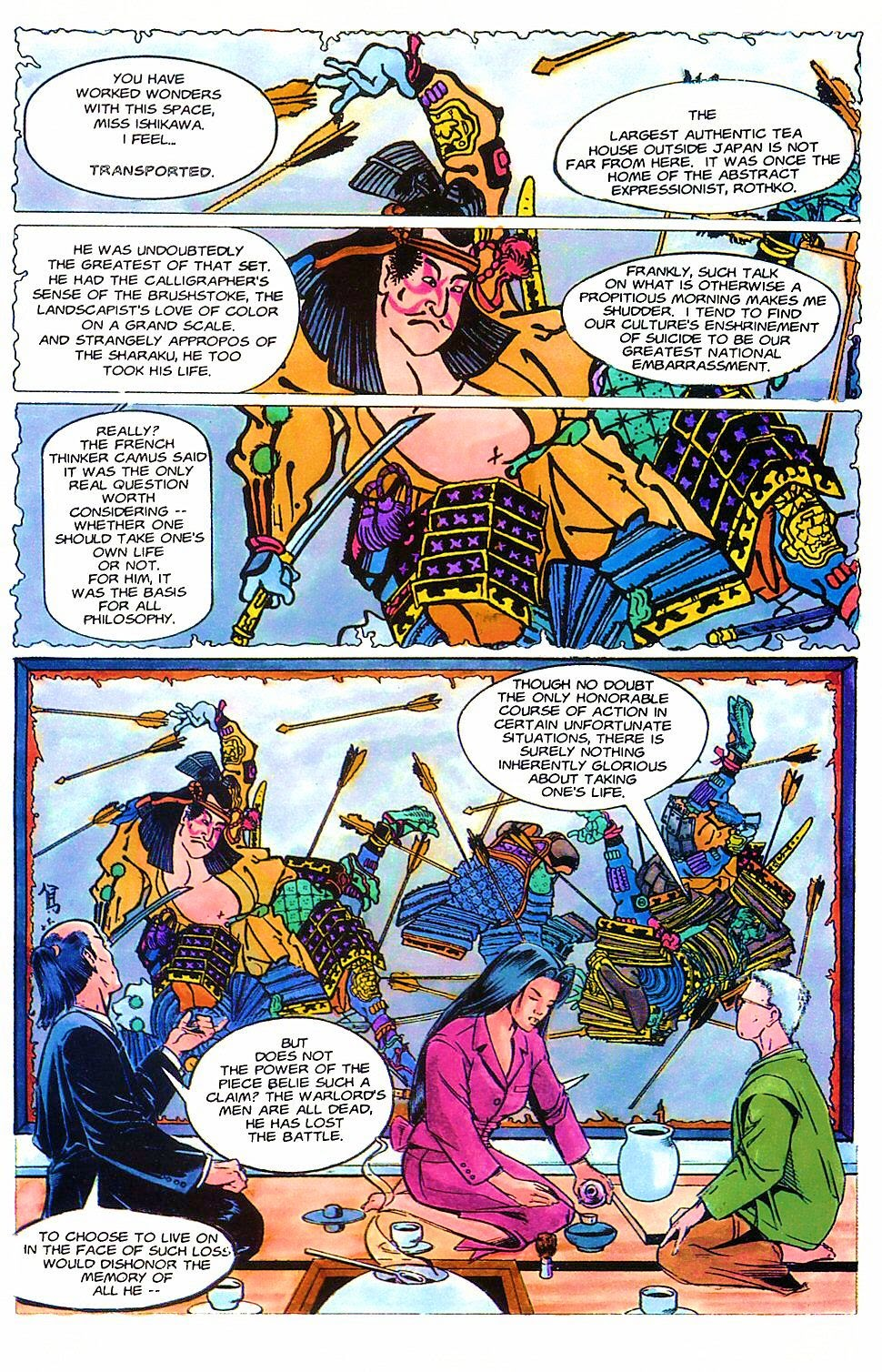 Read online Shi: The Way of the Warrior comic -  Issue #2 - 14