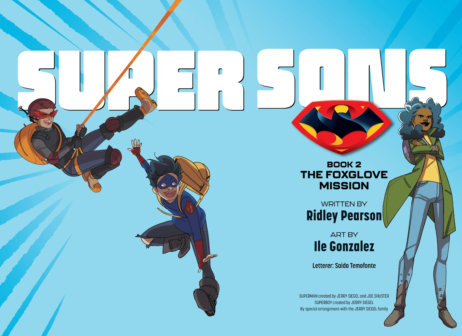 Read online Super Sons (2019) comic -  Issue # TPB The Foxglove Mission (Part 1) - 3