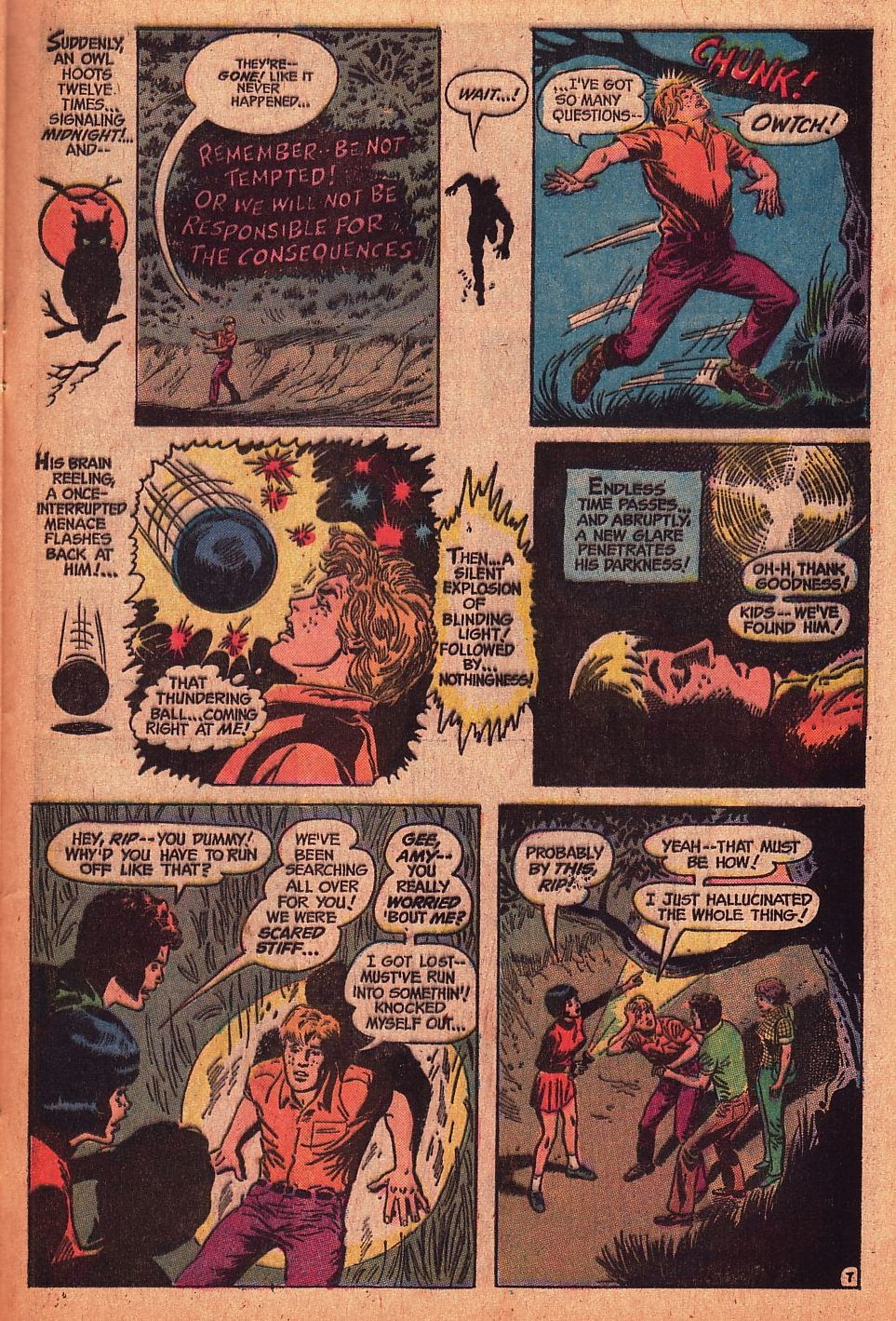 Read online Strange Sports Stories (1973) comic -  Issue #1 - 21
