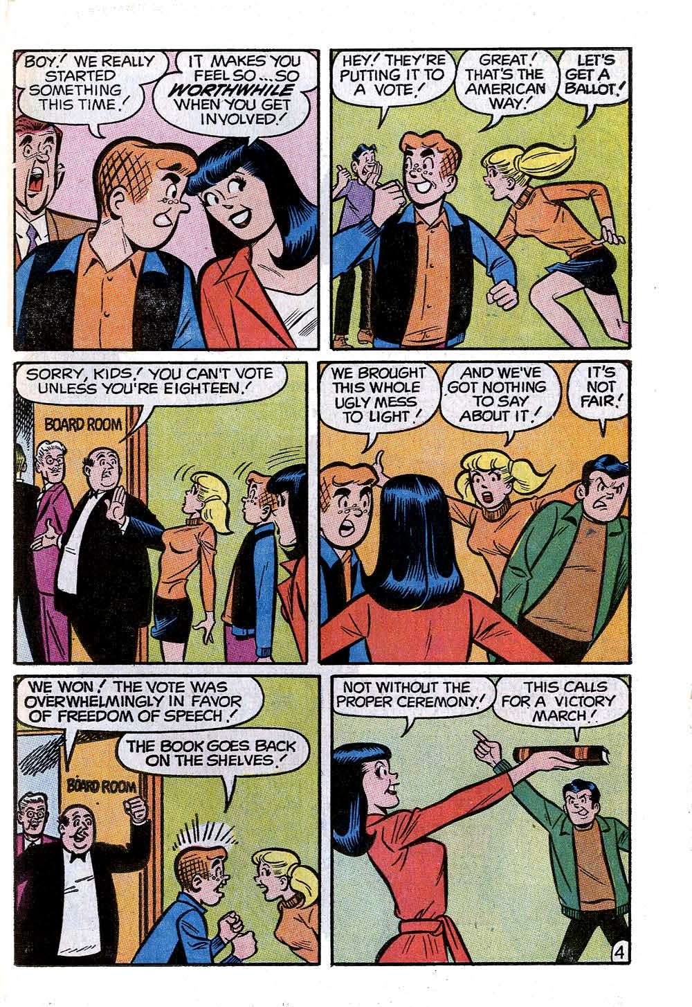 Read online Archie (1960) comic -  Issue #205 - 23