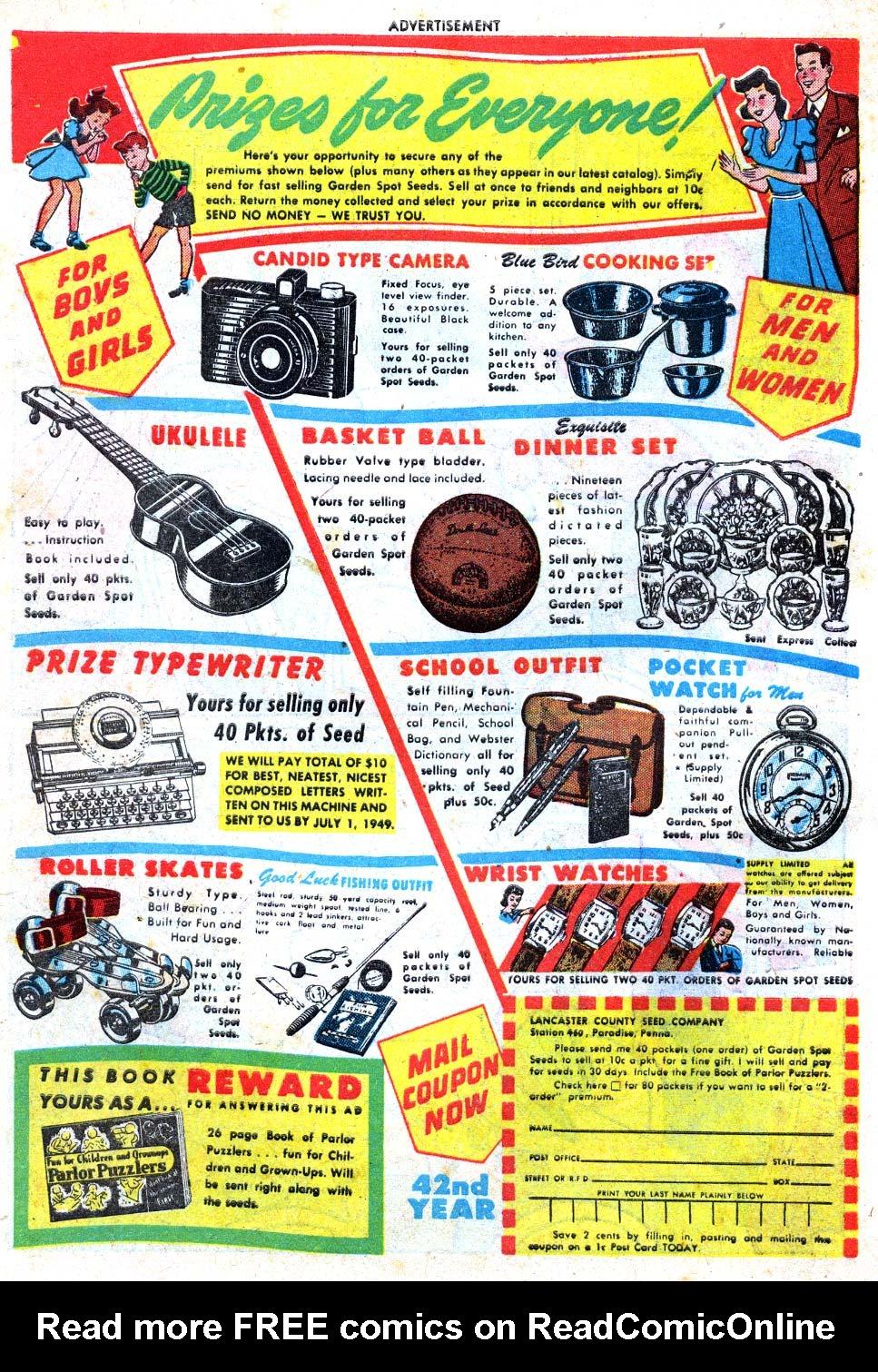 Read online Adventure Comics (1938) comic -  Issue #137 - 50