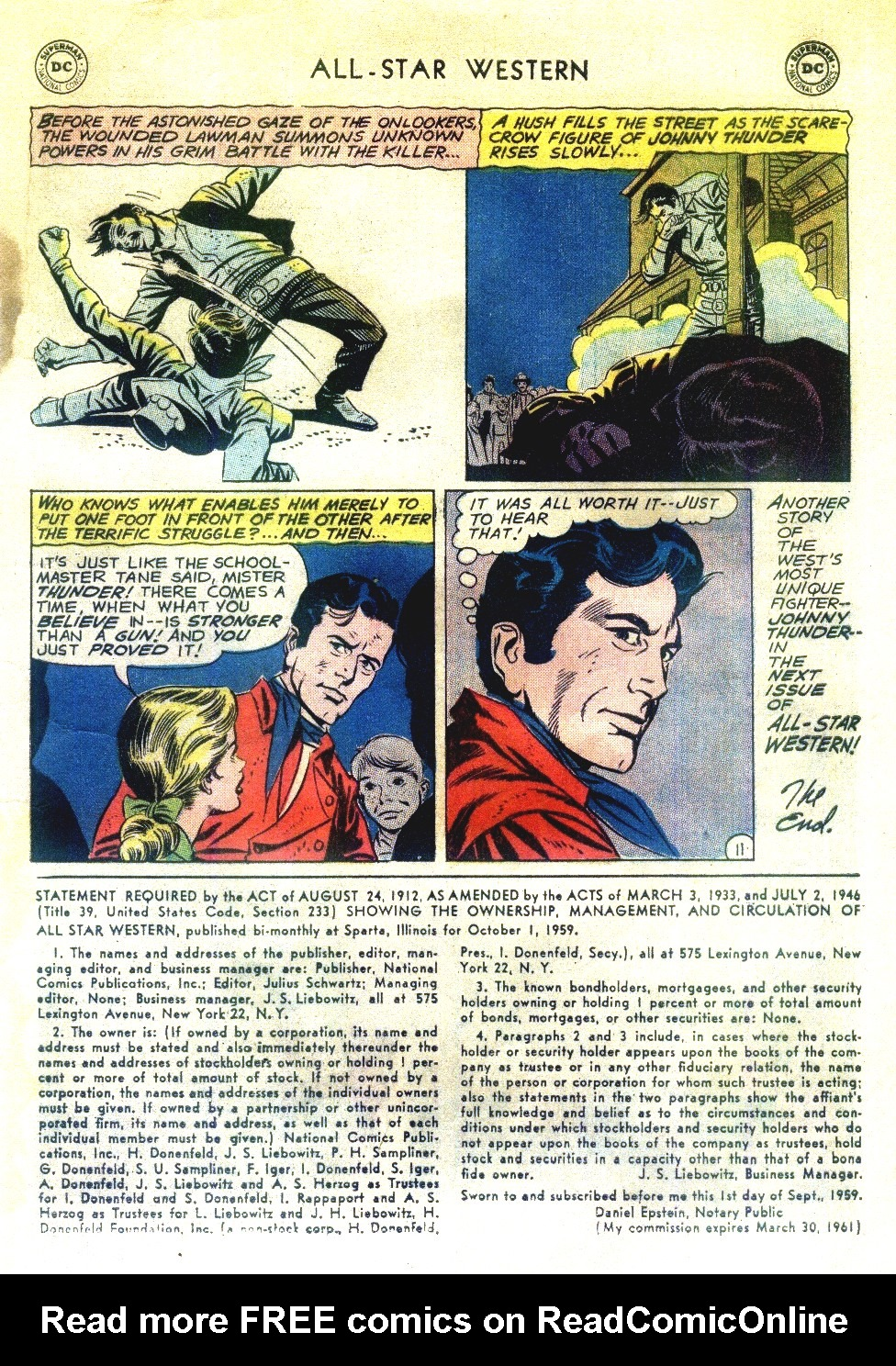 Read online All-Star Western (1951) comic -  Issue #111 - 13