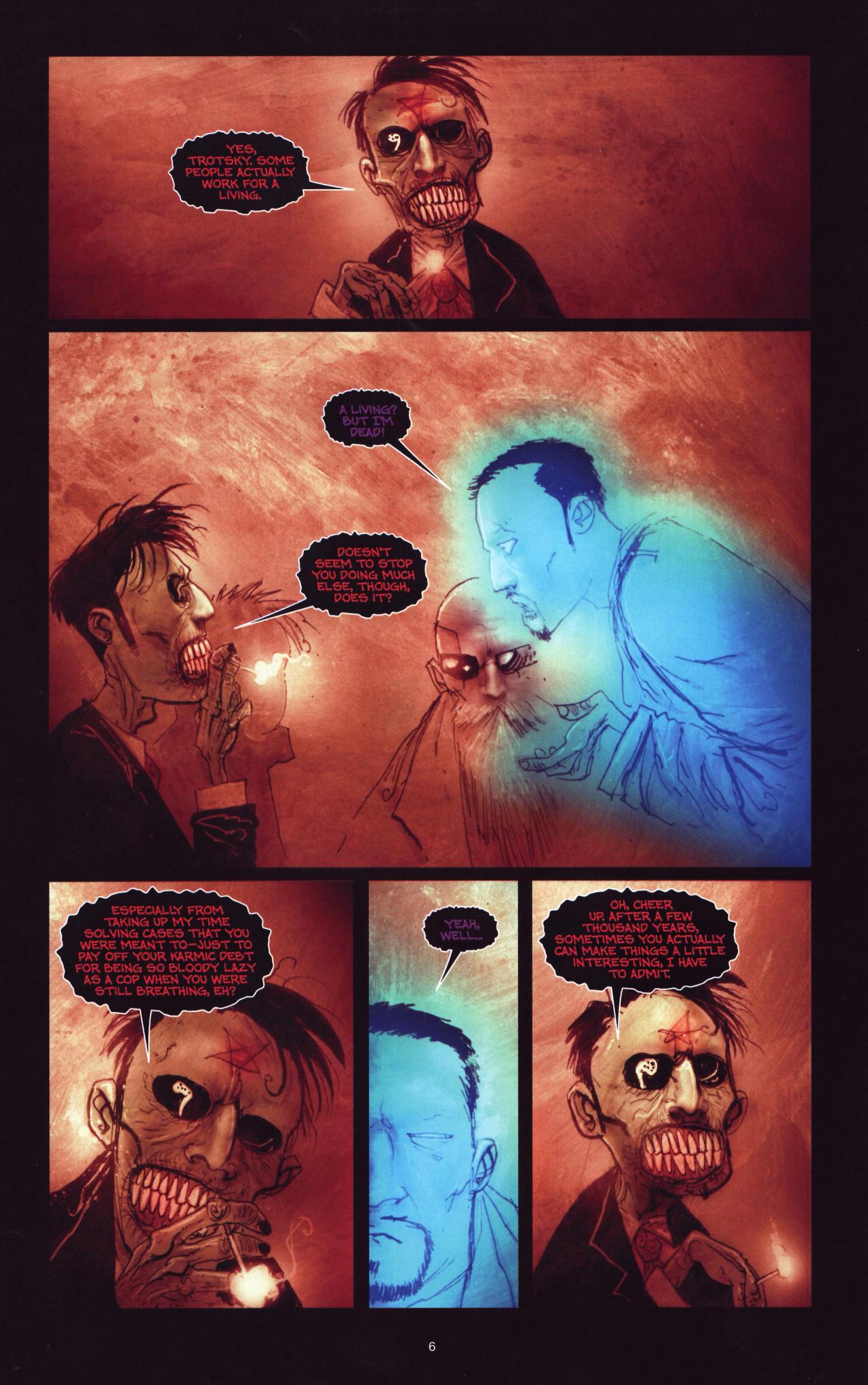 Read online Wormwood: Gentleman Corpse comic -  Issue #8 - 7