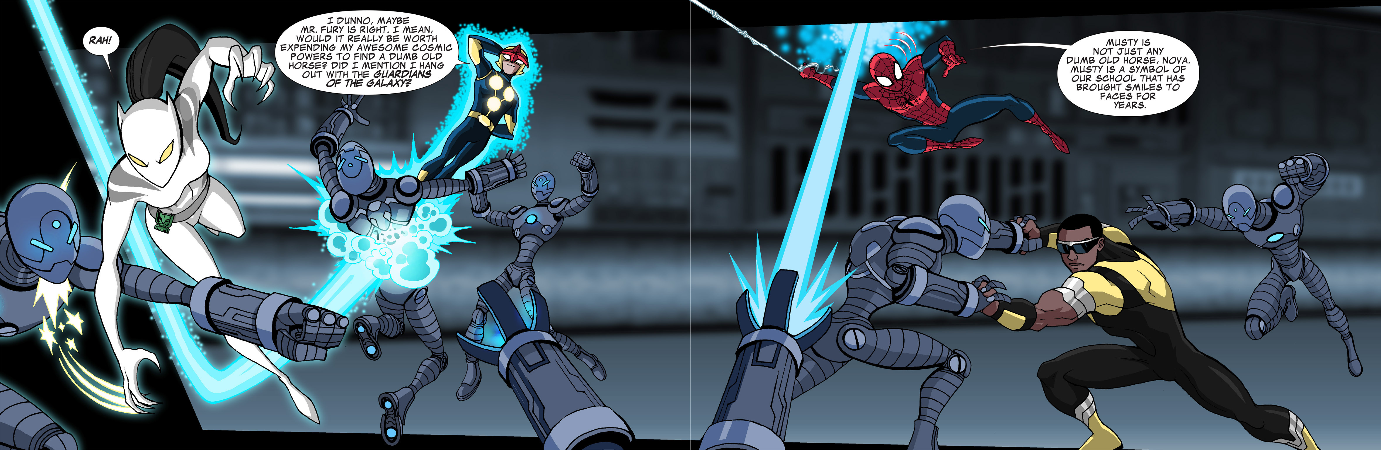 Read online Ultimate Spider-Man (Infinite Comics) (2015) comic -  Issue #21 - 9