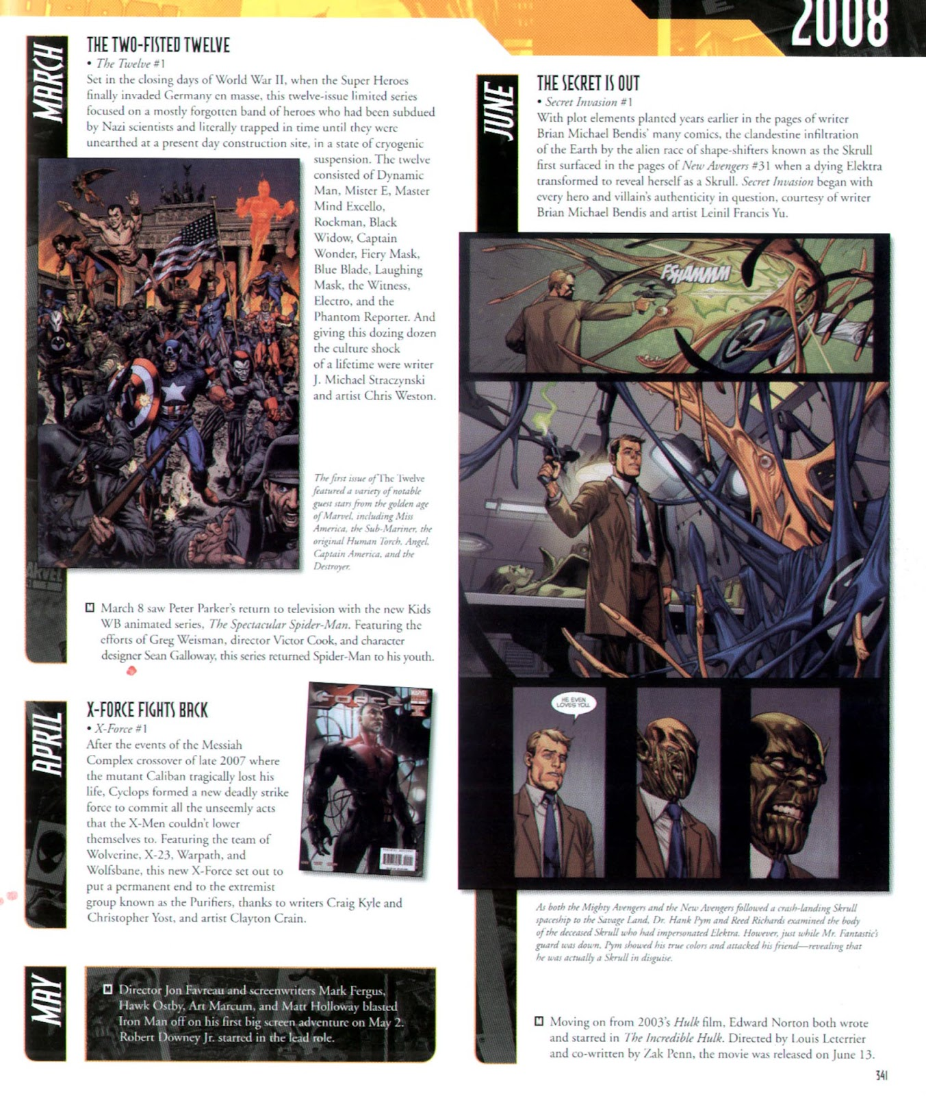 Read online Marvel Chronicle comic -  Issue # TPB (Part 3) - 116