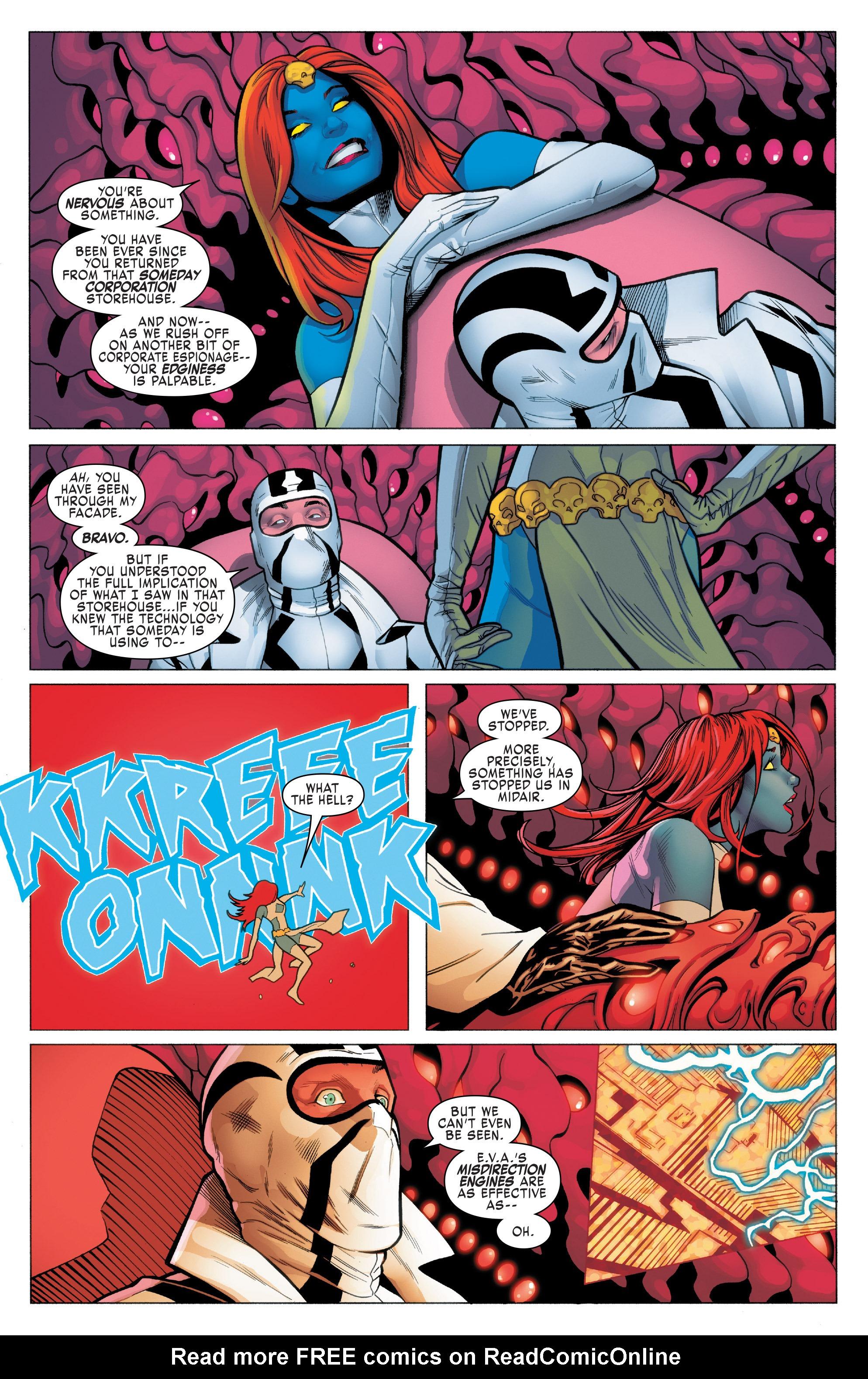 Read online Uncanny X-Men (2016) comic -  Issue #5 - 20