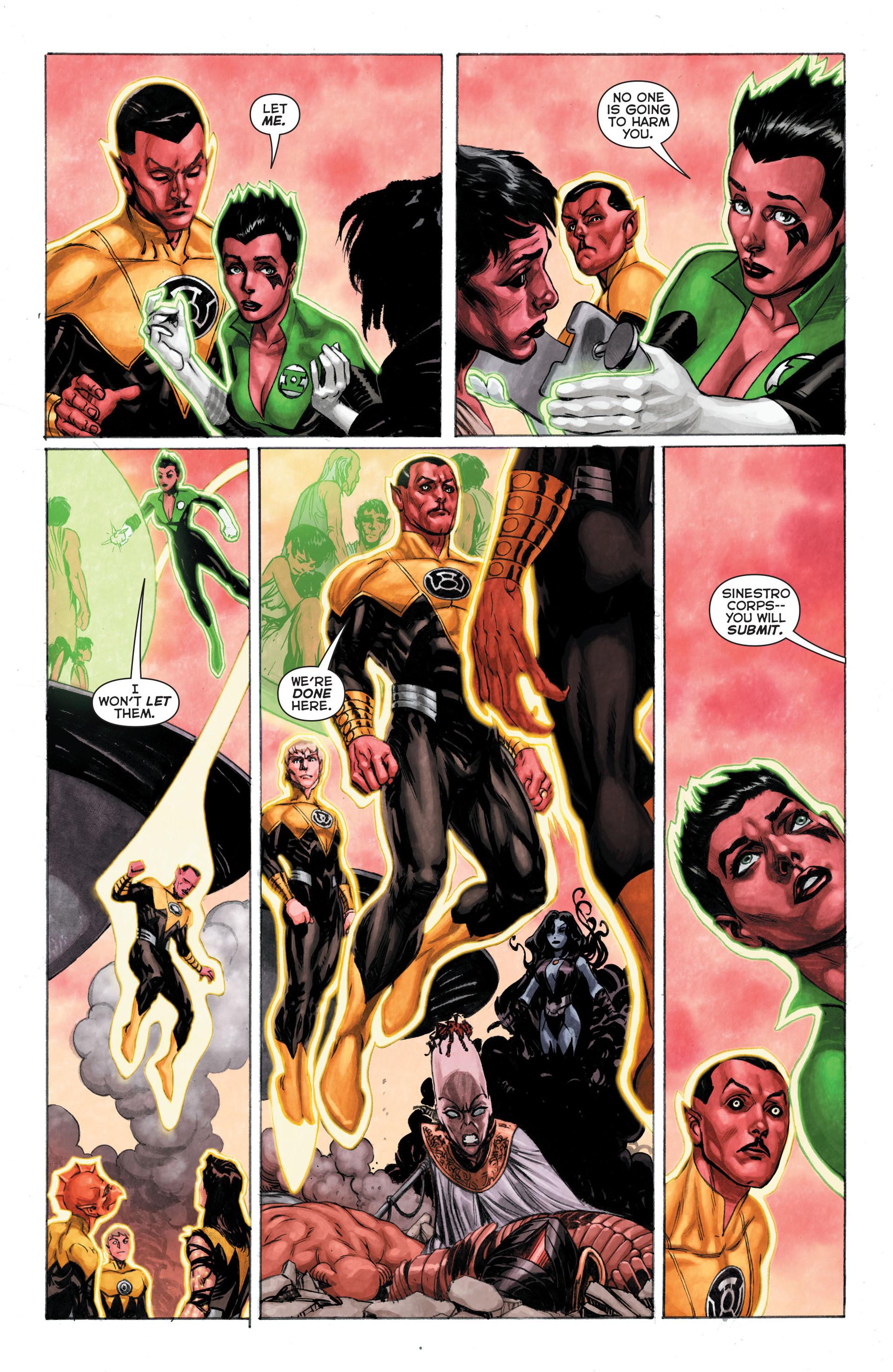 Read online Sinestro comic -  Issue #3 - 20