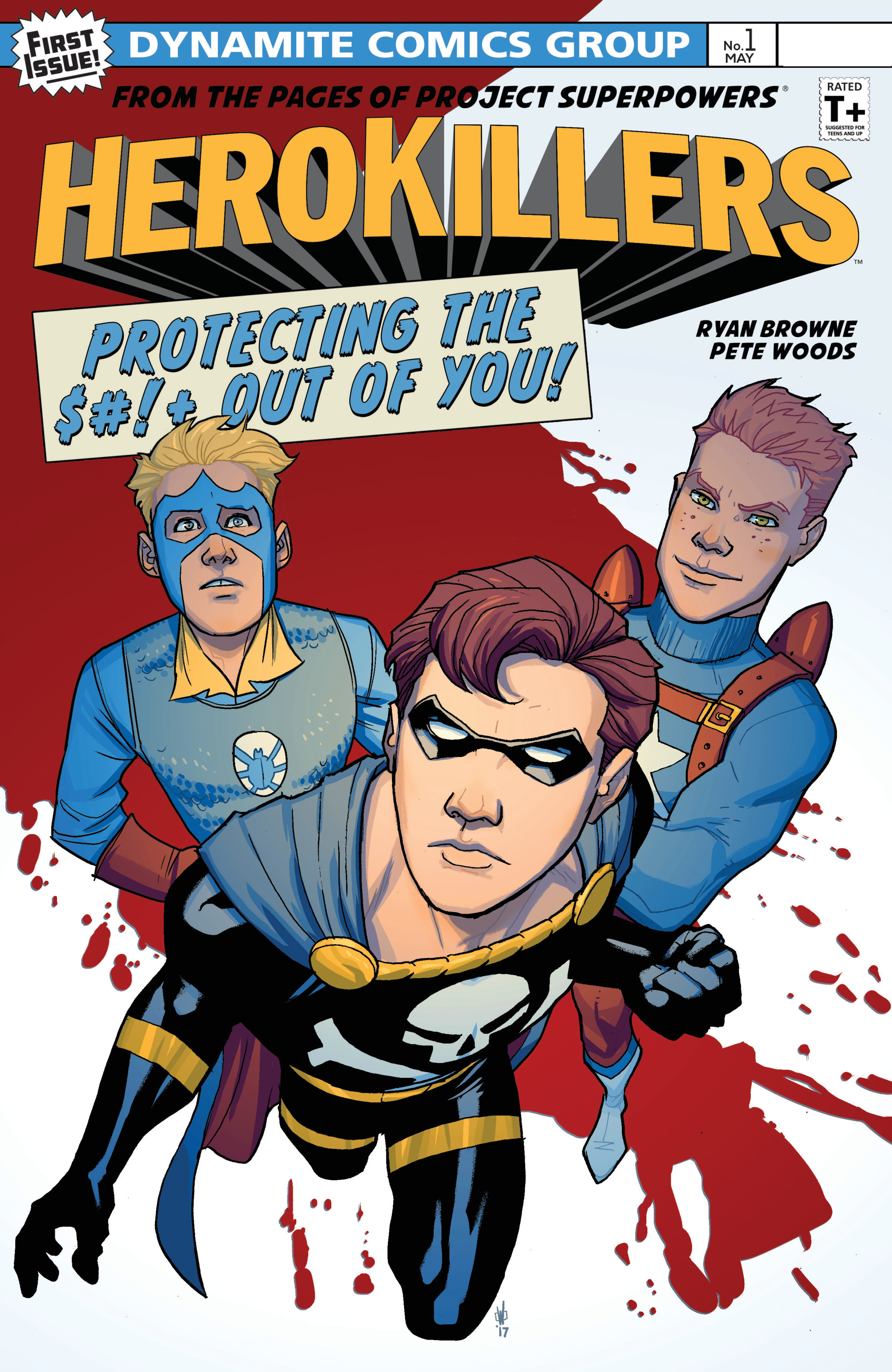 Read online Project Superpowers: Hero Killers comic -  Issue #1 - 1
