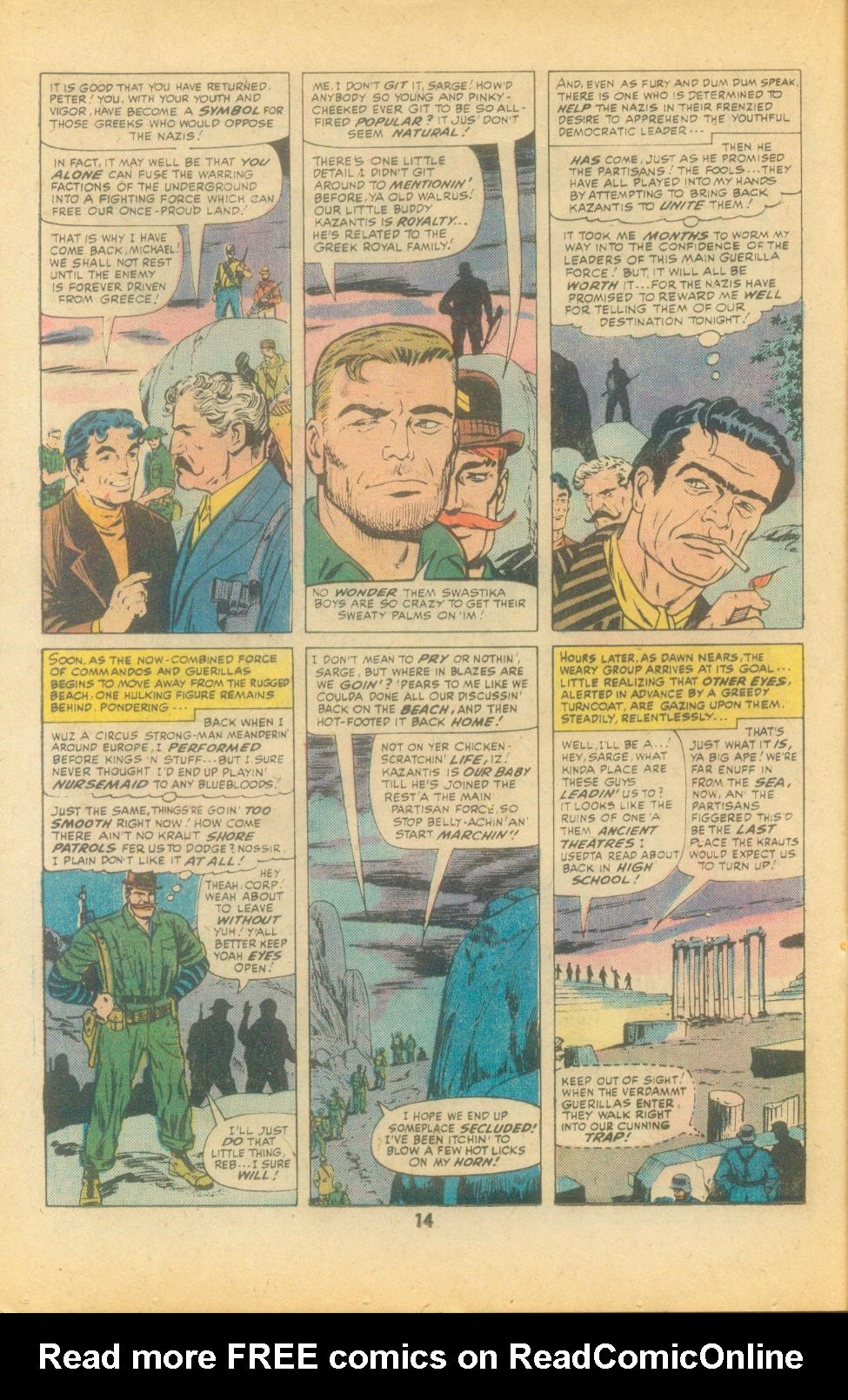 Read online Sgt. Fury comic -  Issue #135 - 16