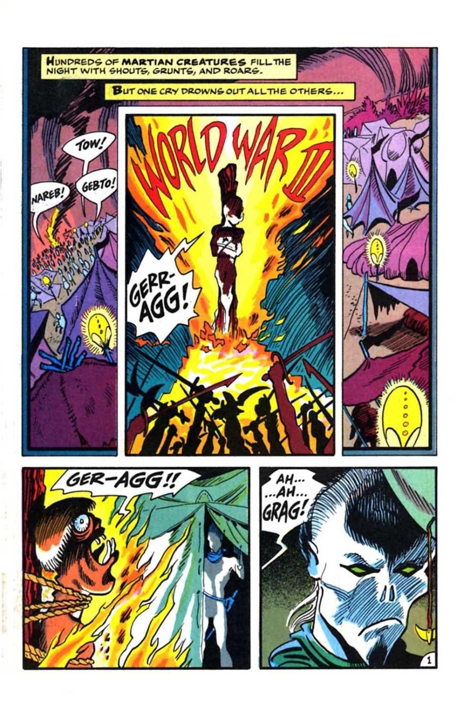 Read online Mars comic -  Issue #9 - 3