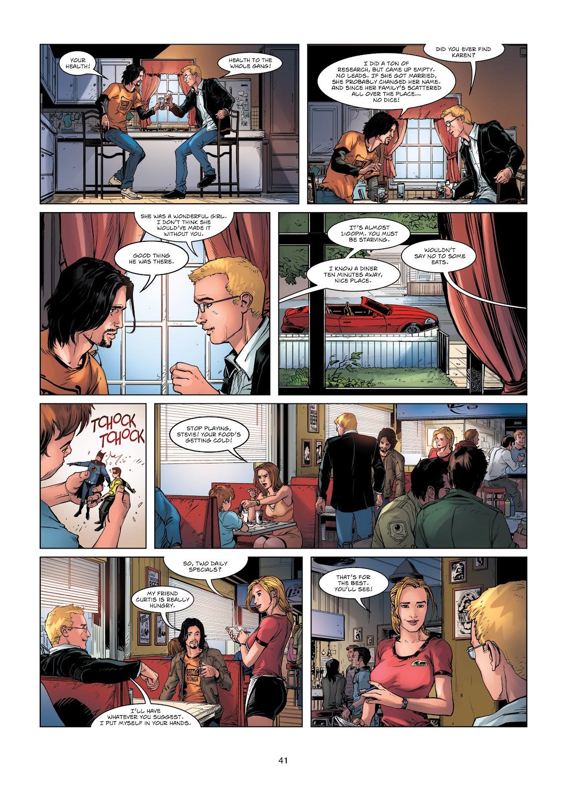 Read online Vigilantes comic -  Issue #1 - 41