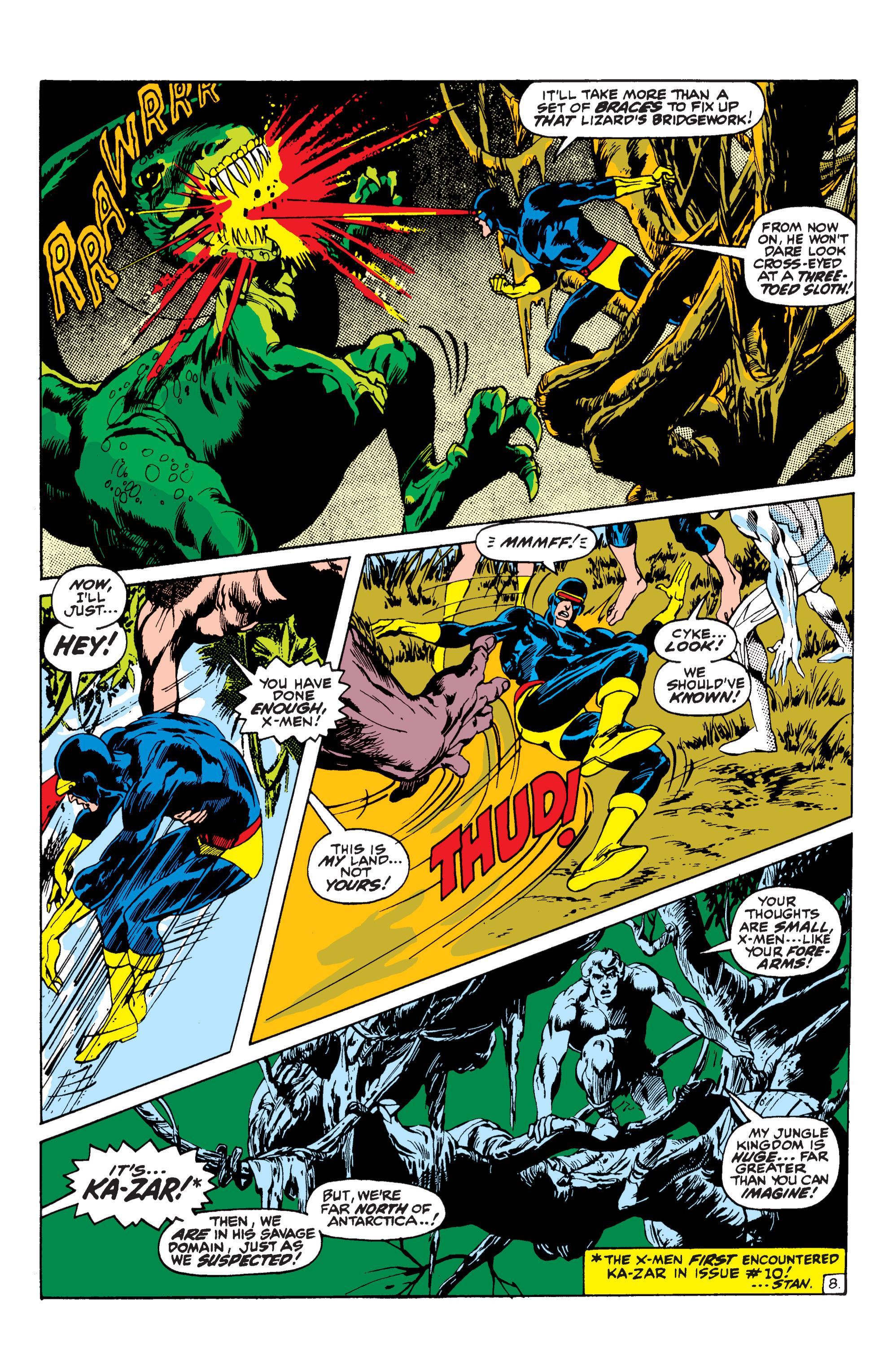 Uncanny X-Men (1963) 62 Page 8