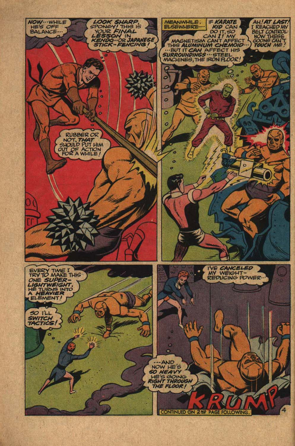 Read online Adventure Comics (1938) comic -  Issue #363 - 6