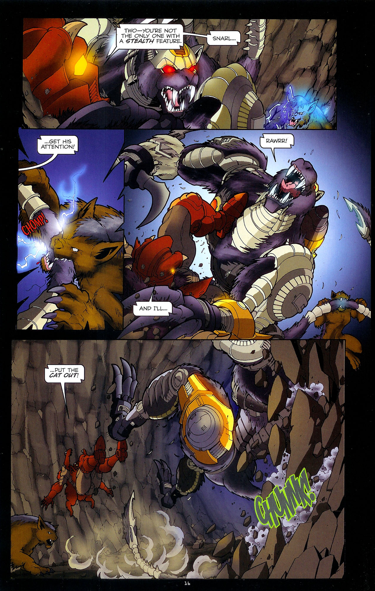 Read online Transformers: Beast Wars: The Ascending comic -  Issue #1 - 18