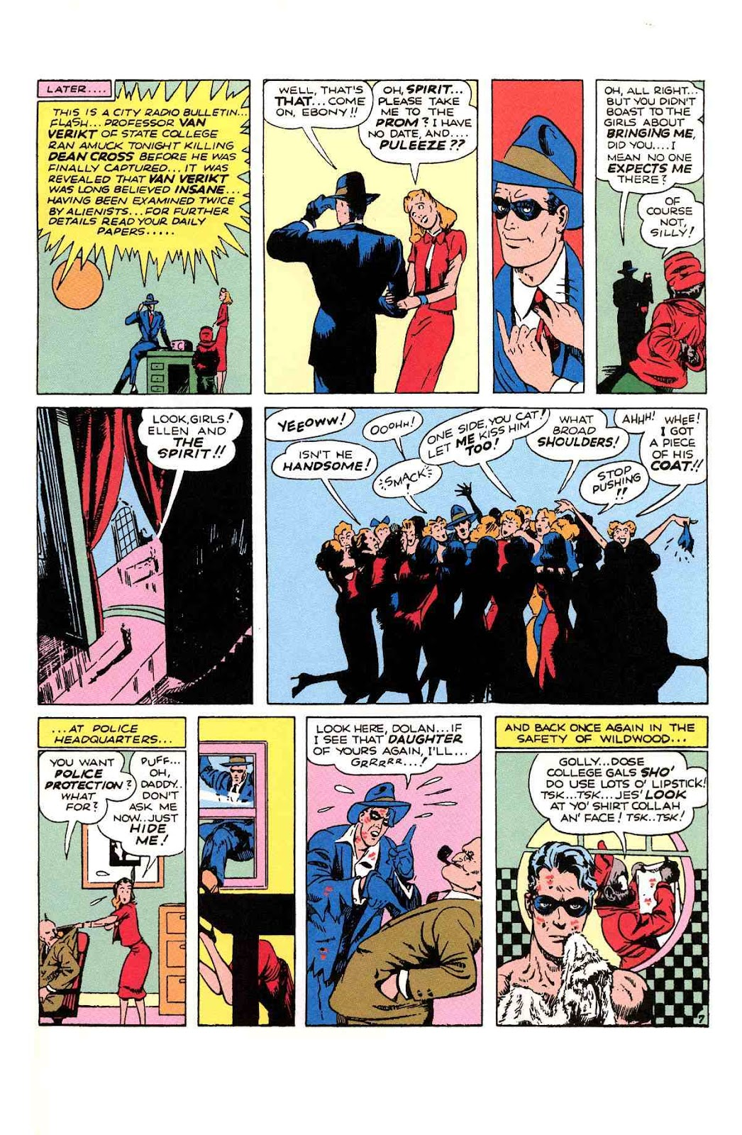 Read online Will Eisner's The Spirit Archives comic -  Issue # TPB 1 (Part 2) - 90