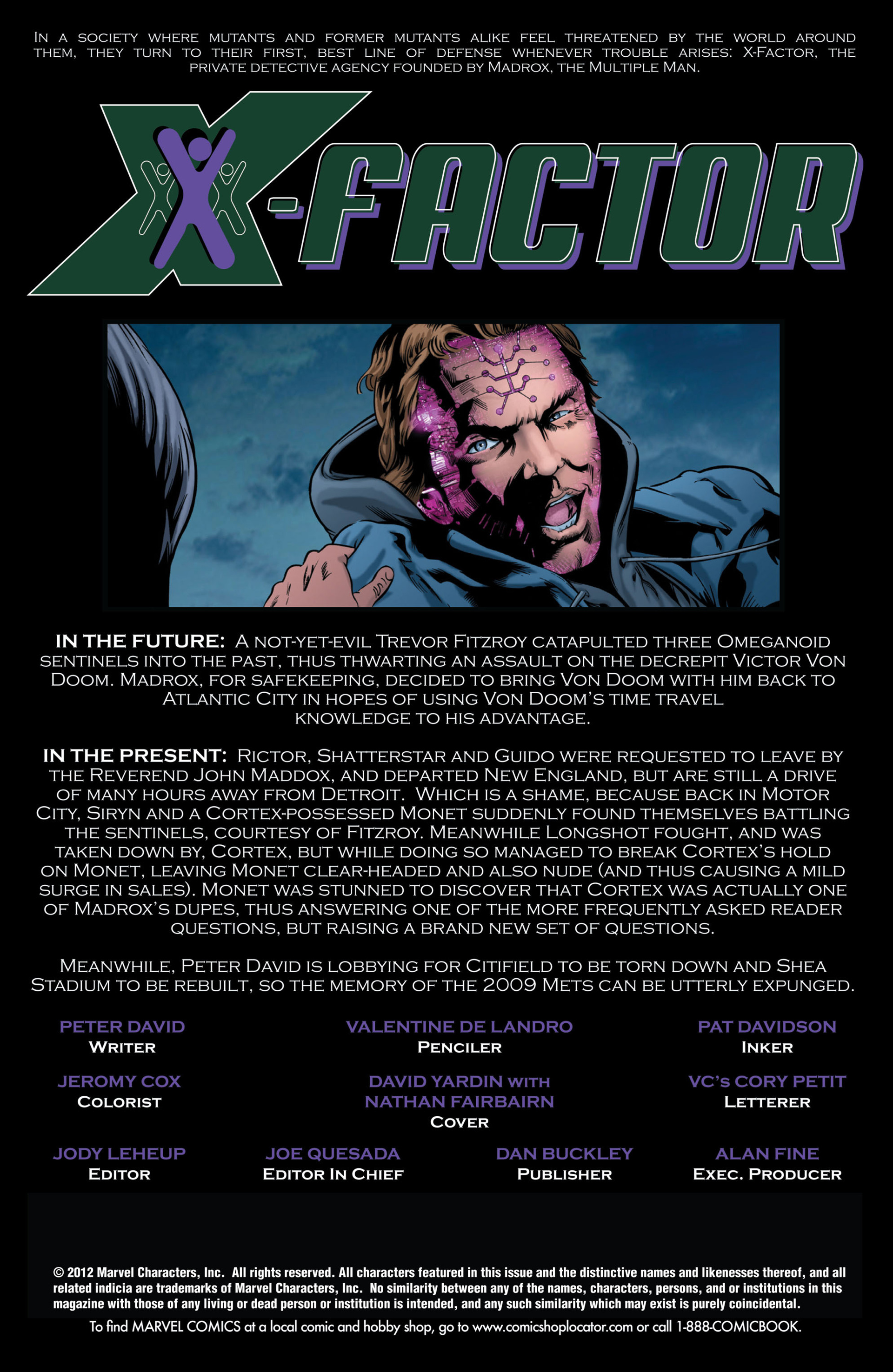 Read online X-Factor (2006) comic -  Issue #48 - 2