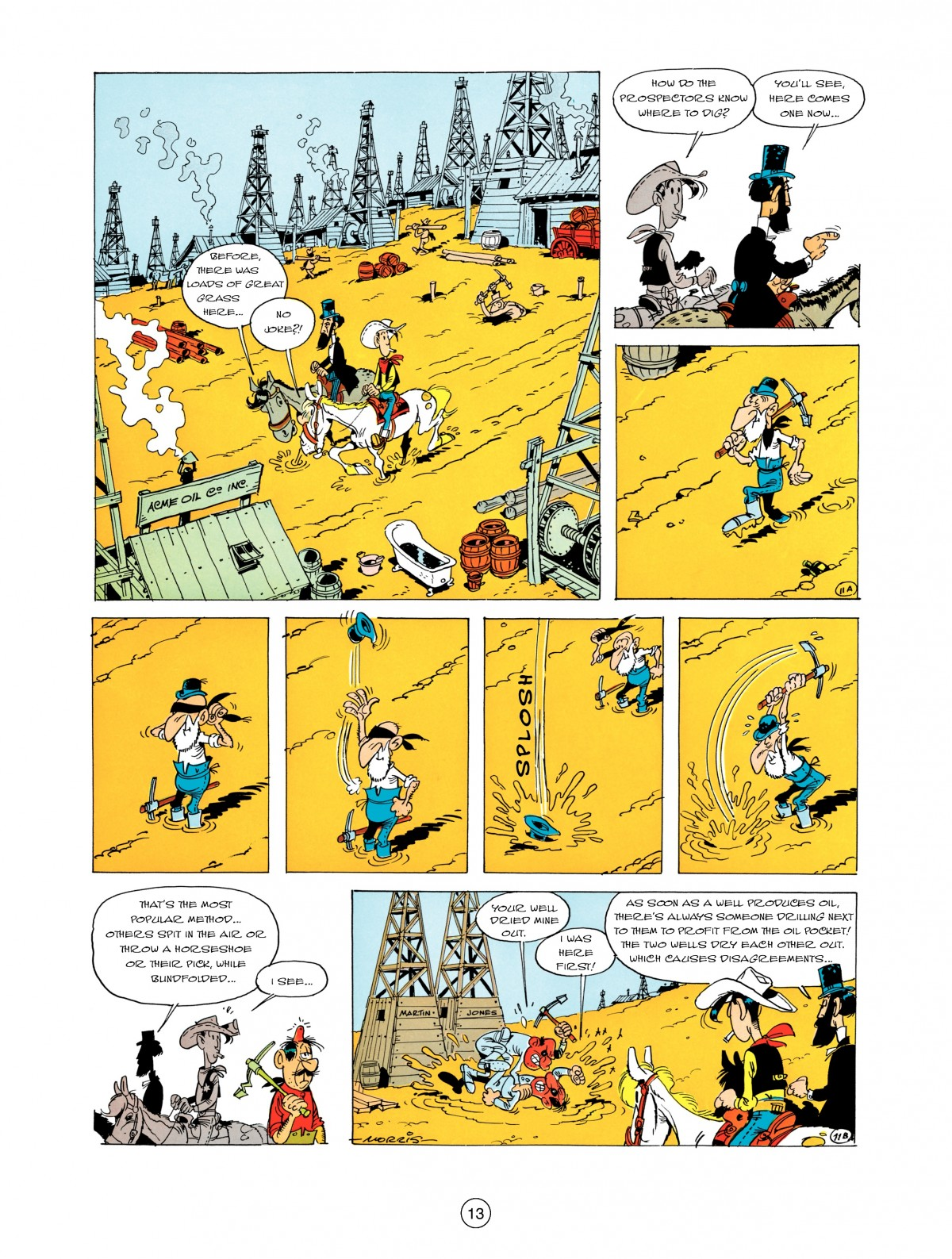 A Lucky Luke Adventure 5 Page 14
