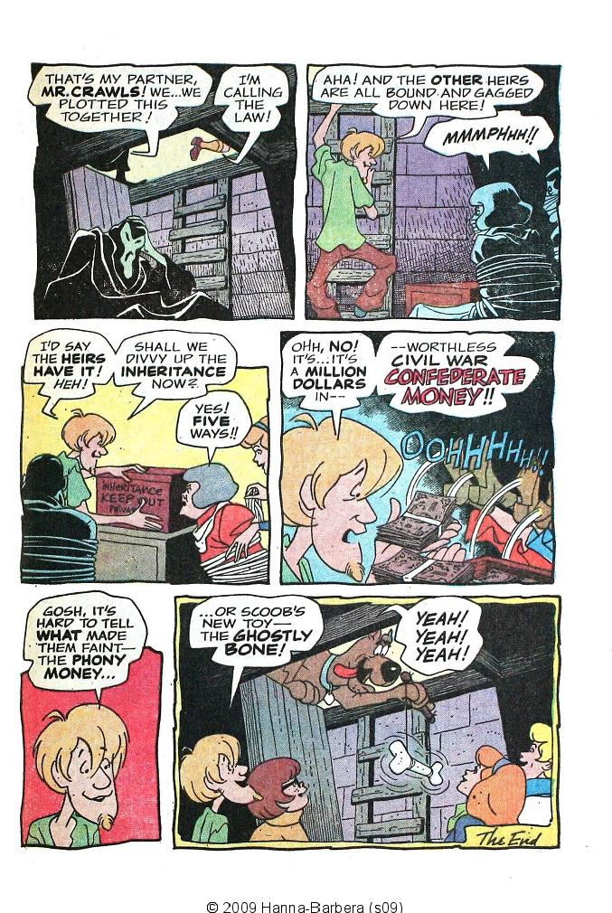 Read online Scooby-Doo... Where Are You! (1970) comic -  Issue #8 - 33