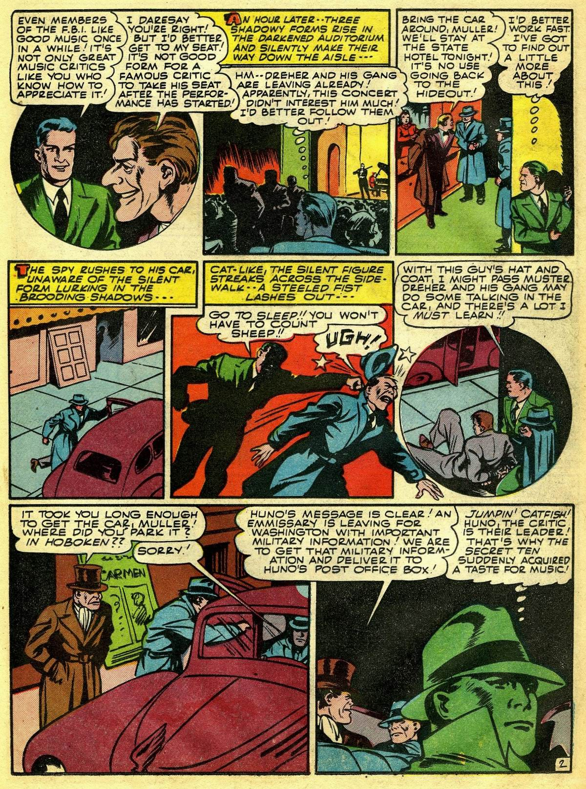 Read online Detective Comics (1937) comic -  Issue #67 - 43