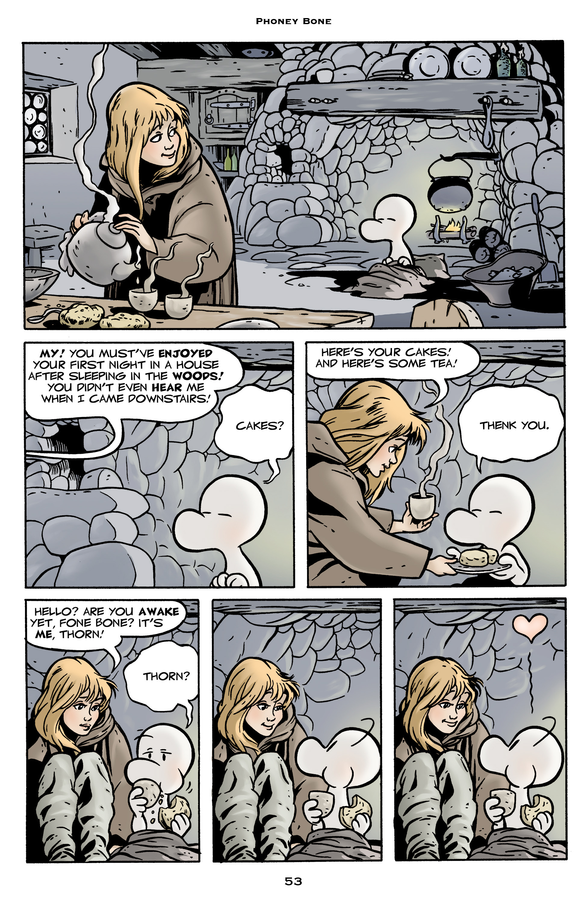 Read online Bone: Out From Boneville comic -  Issue # TPB - 53