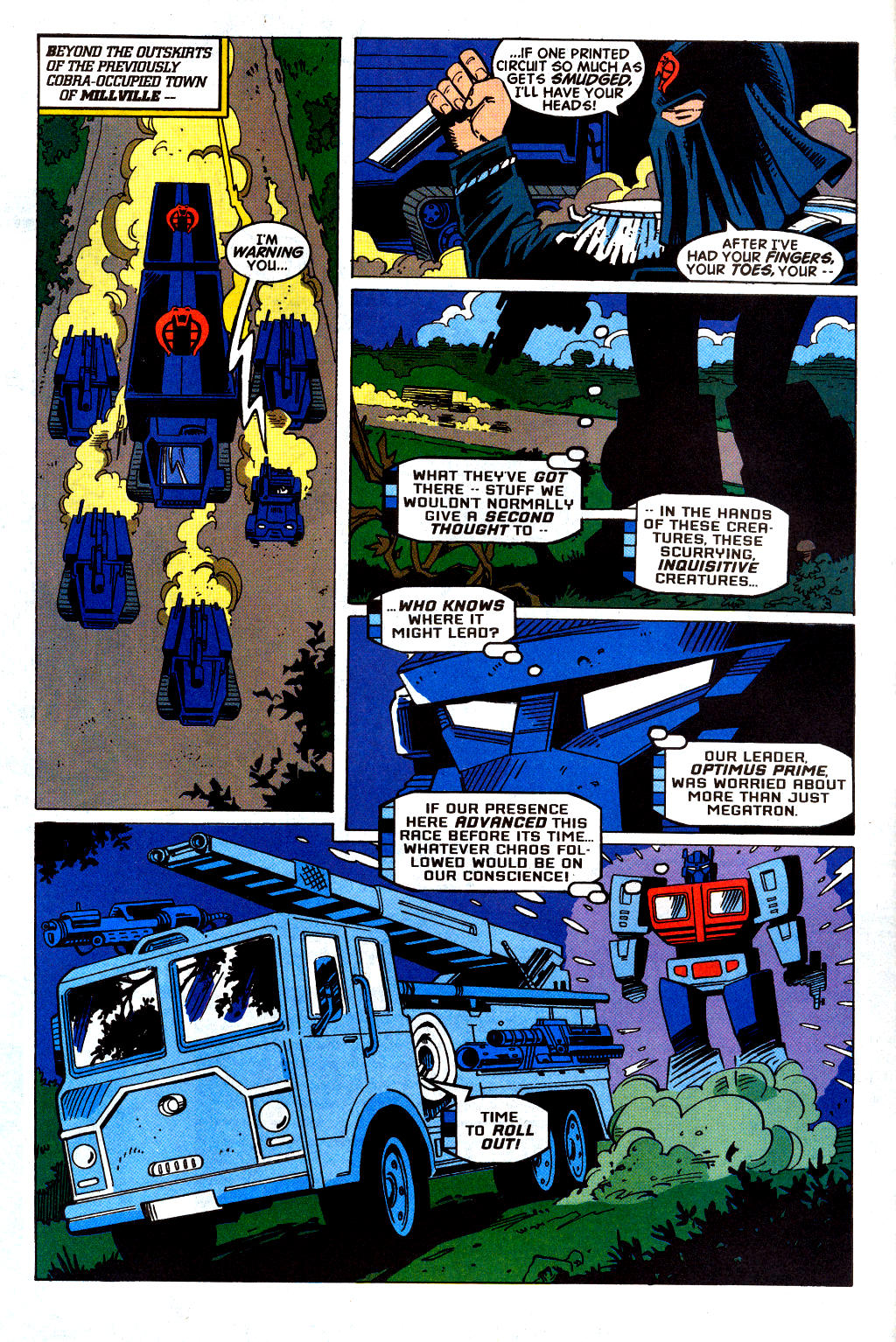 Read online Transformers: Generation 2 comic -  Issue #2 - 6