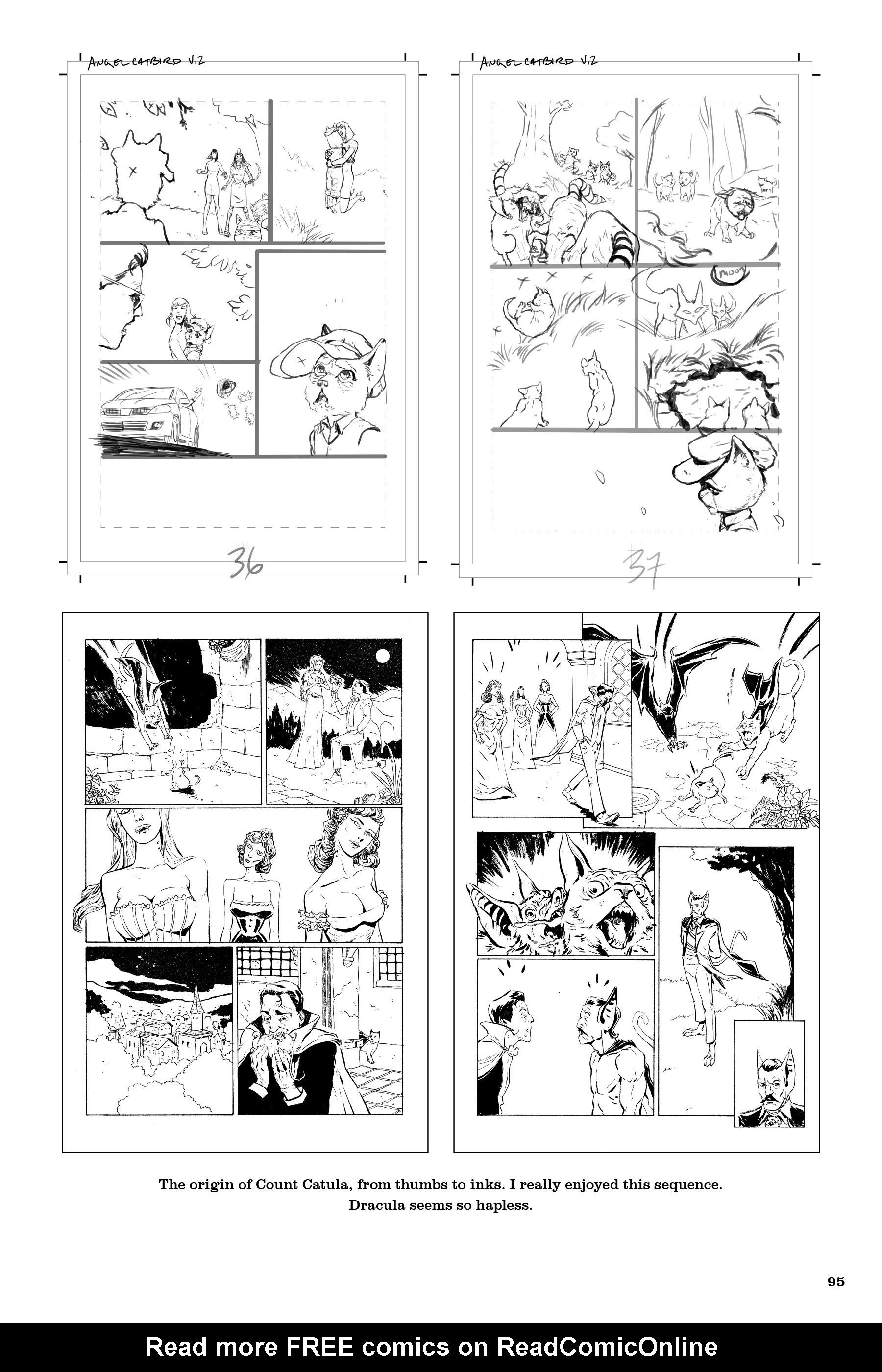 Read online Angel Catbird comic -  Issue # TPB 2 - 96