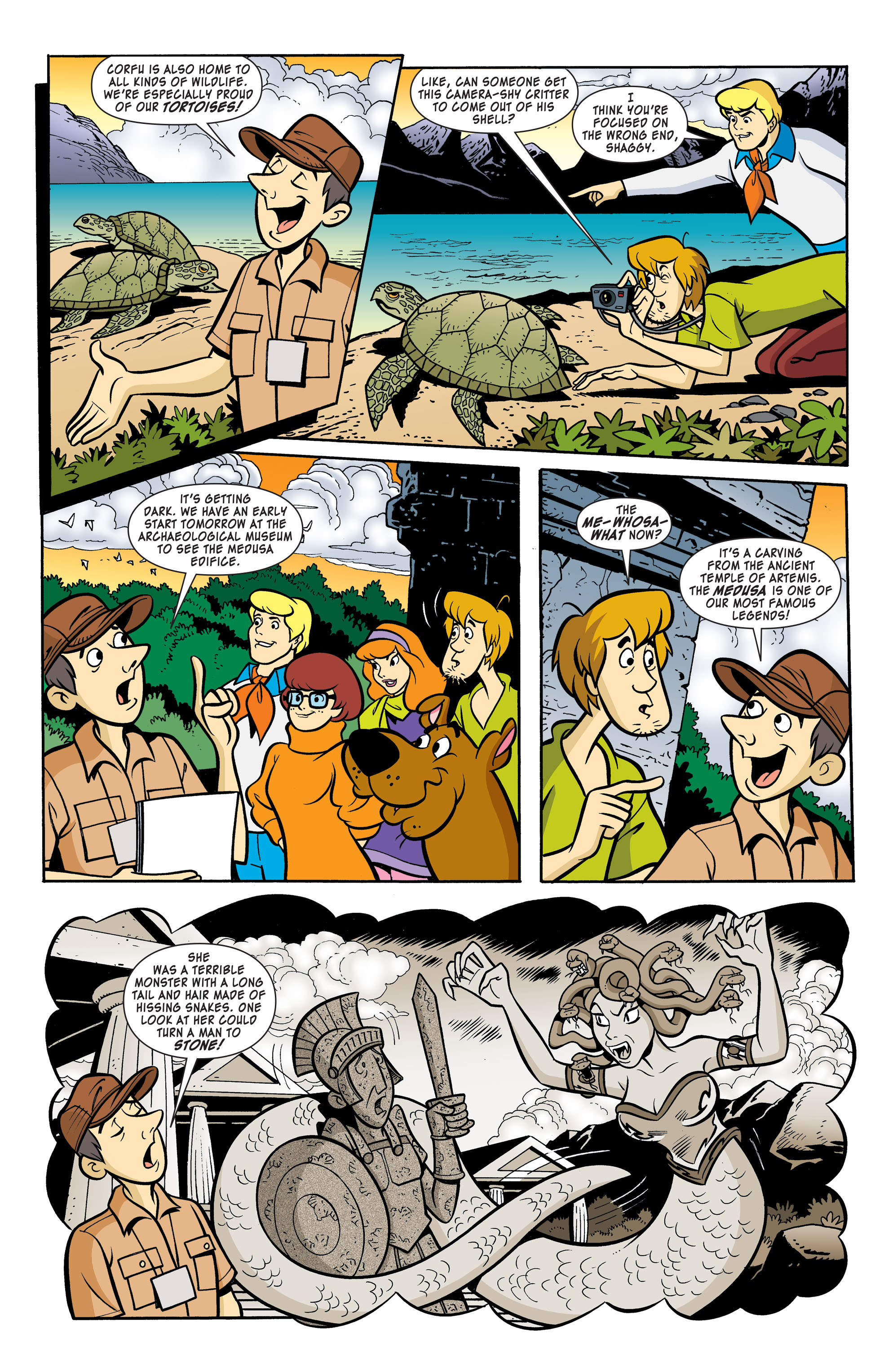 Read online Scooby-Doo: Where Are You? comic -  Issue #59 - 3