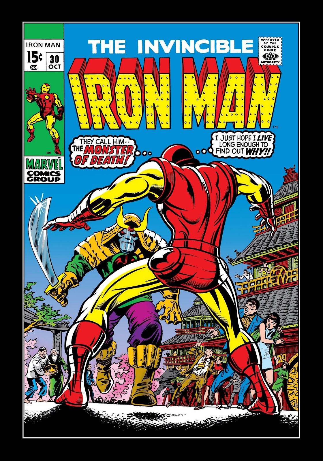 Read online Marvel Masterworks: The Invincible Iron Man comic -  Issue # TPB 7 (Part 1) - 89