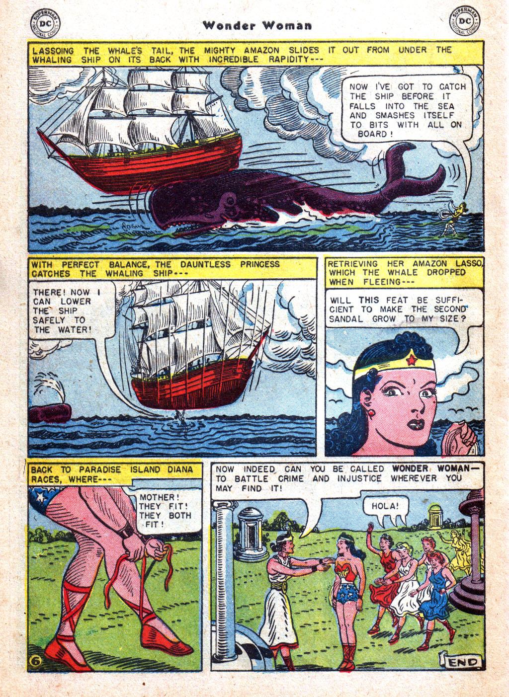 Read online Wonder Woman (1942) comic -  Issue #72 - 32