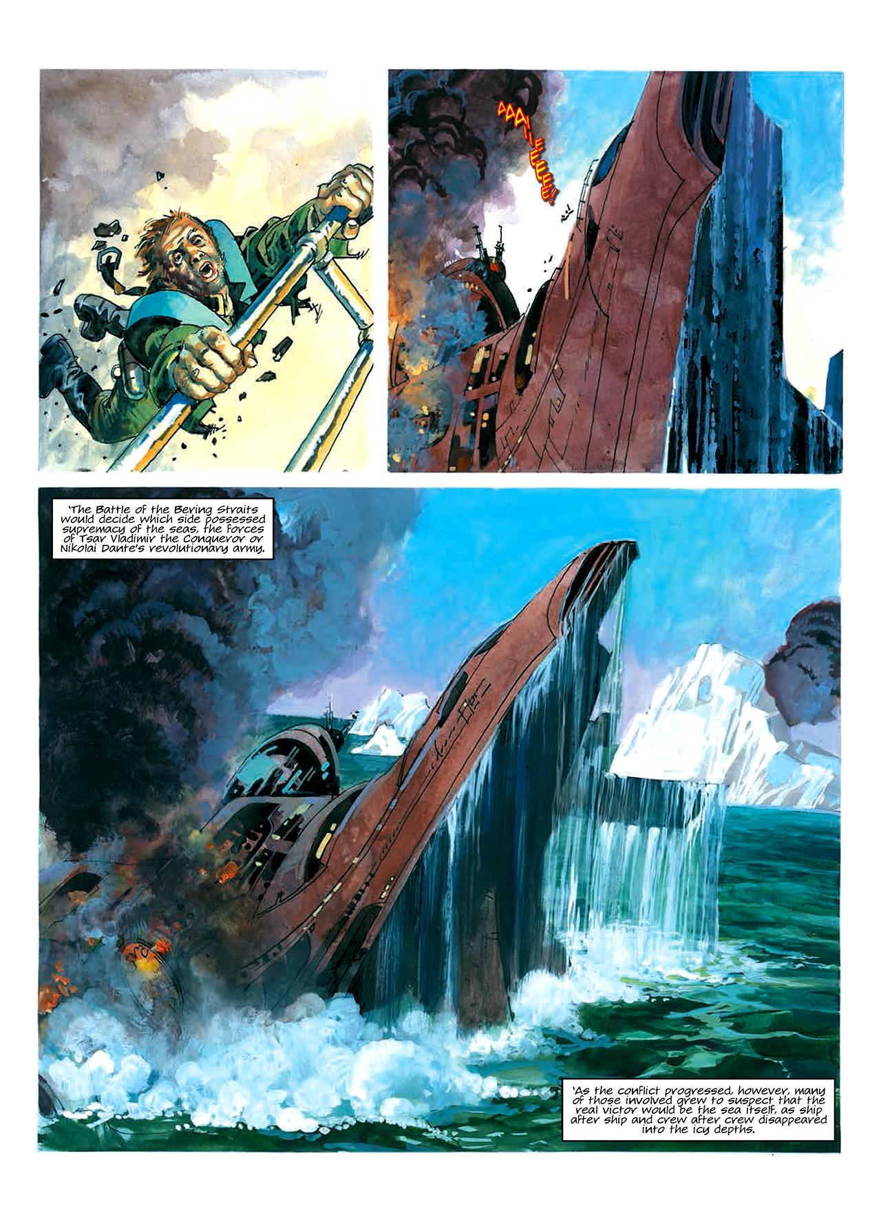 Read online Nikolai Dante comic -  Issue # TPB 10 - 19