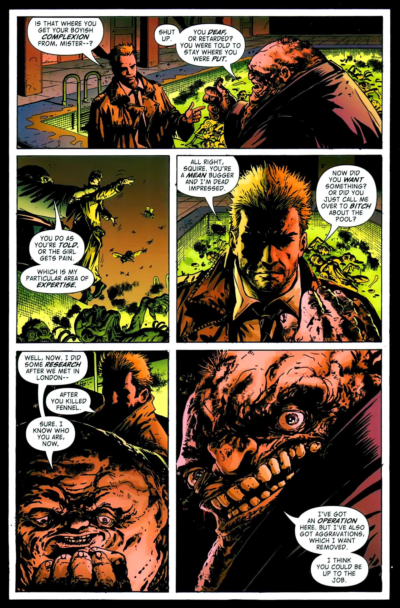 Read online John Constantine Hellblazer: All His Engines comic -  Issue # Full - 40