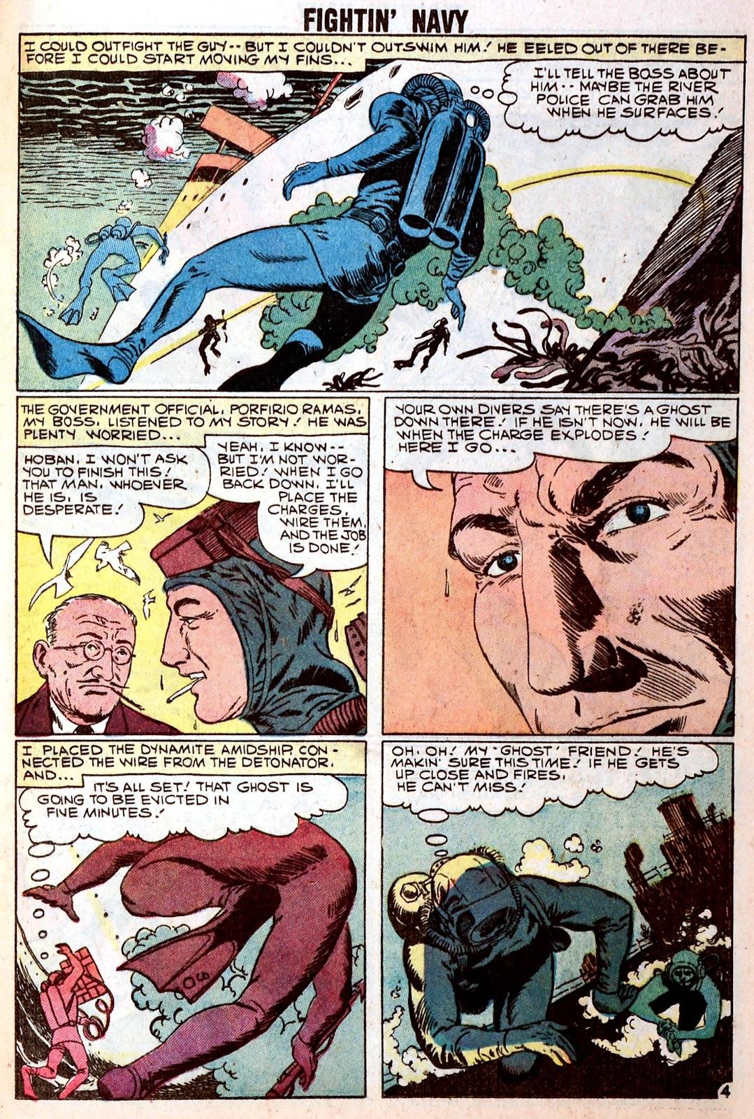 Read online Fightin' Navy comic -  Issue #85 - 25