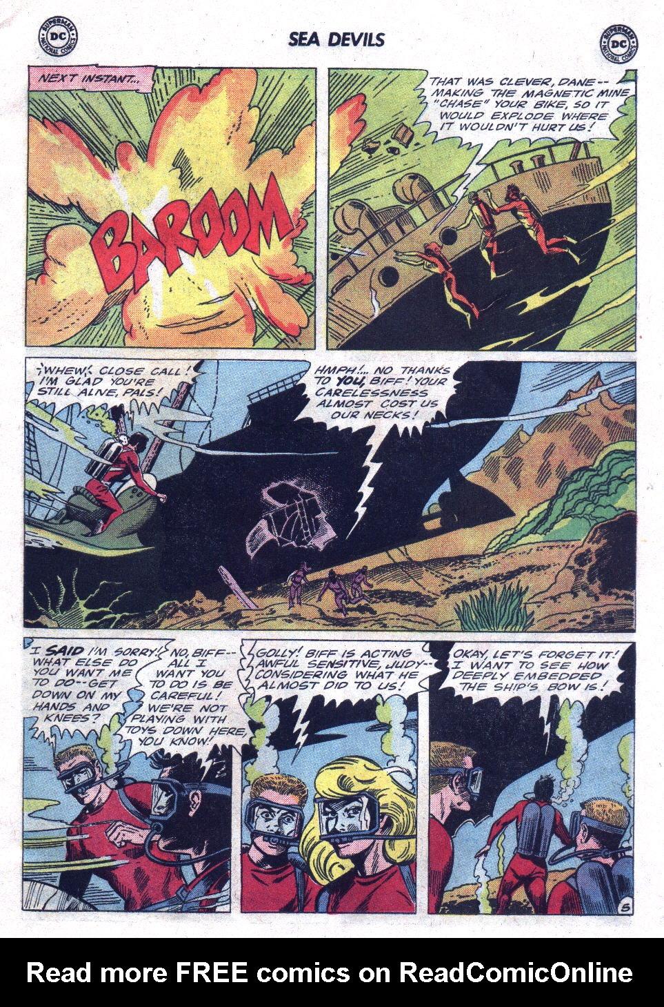 Read online Sea Devils comic -  Issue #21 - 7