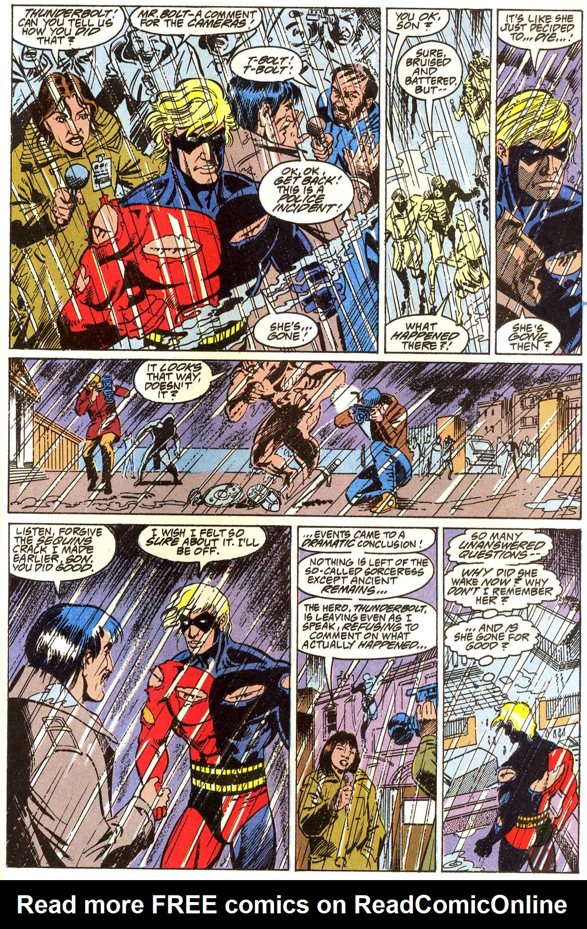 Read online Peter Cannon--Thunderbolt (1992) comic -  Issue #4 - 22