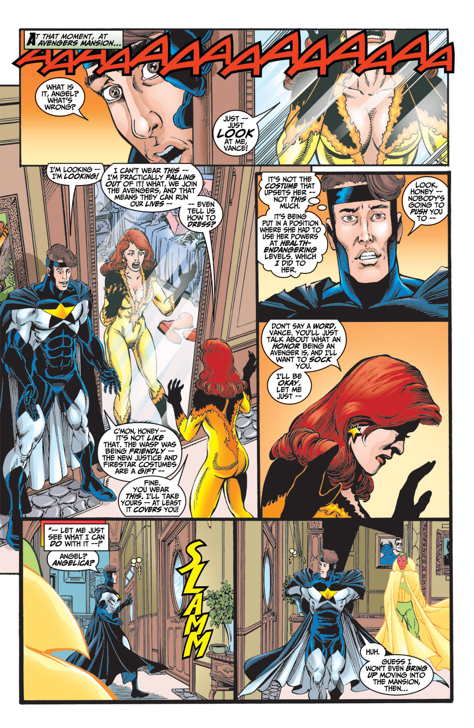 Read online Avengers (1998) comic -  Issue #8 - 5